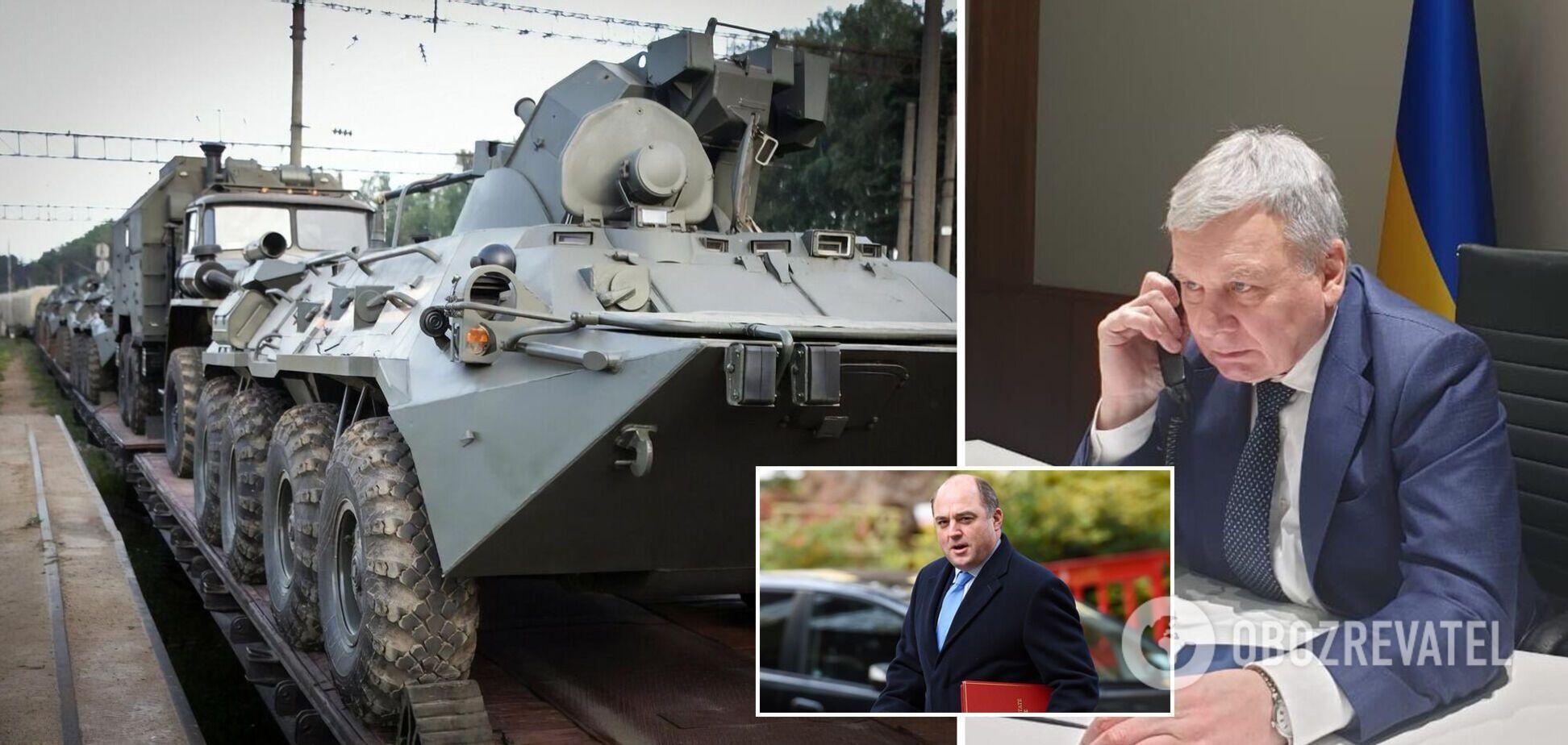 Таран попередив Міноборони Британії про зростаючу агресію Росії та неминучу ескалацію
