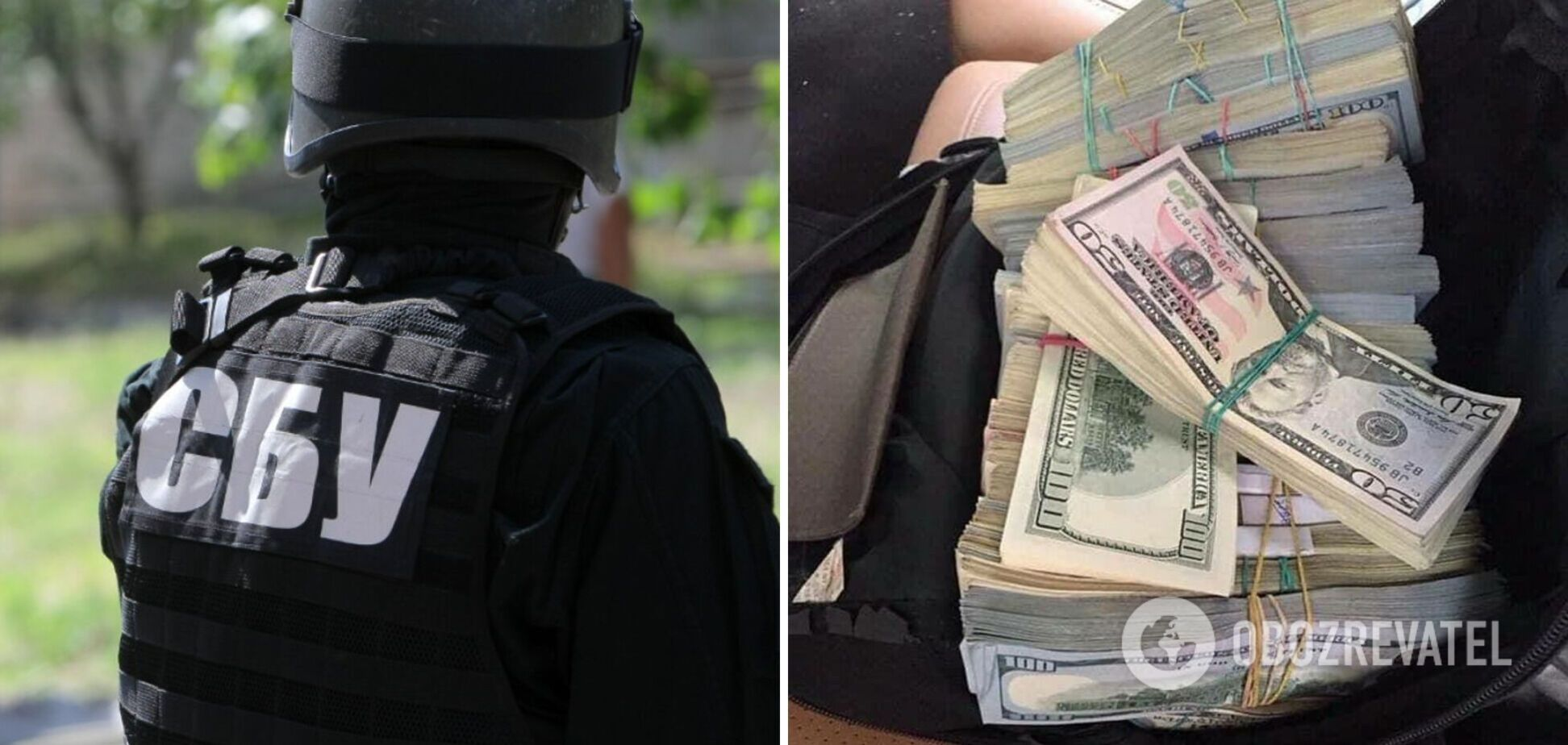 В Украине разоблачили крупных контрабандистов: СБУ изъяла пачки денег. Фото