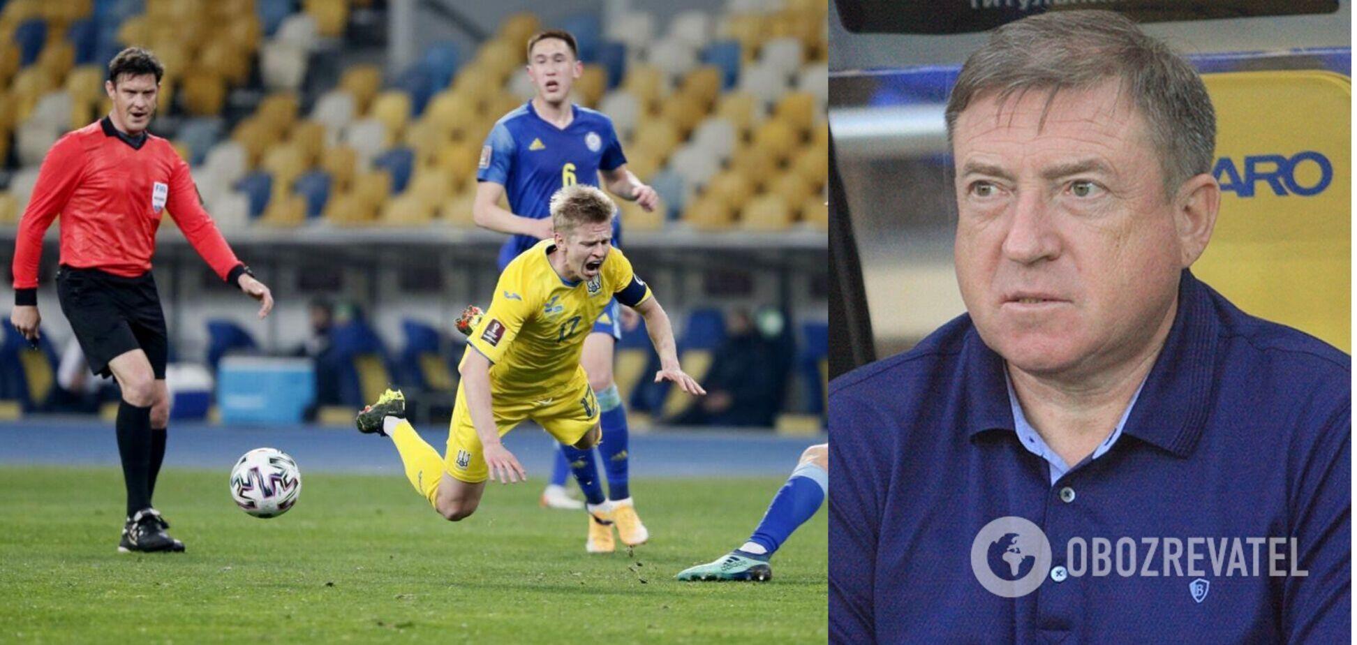 Вячеслав Грозный высказался о сборной Украины по футболу