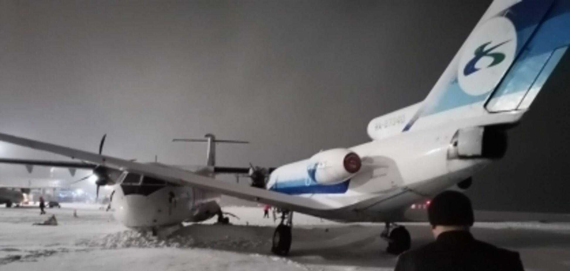 В России в аэропорту столкнулись два самолета