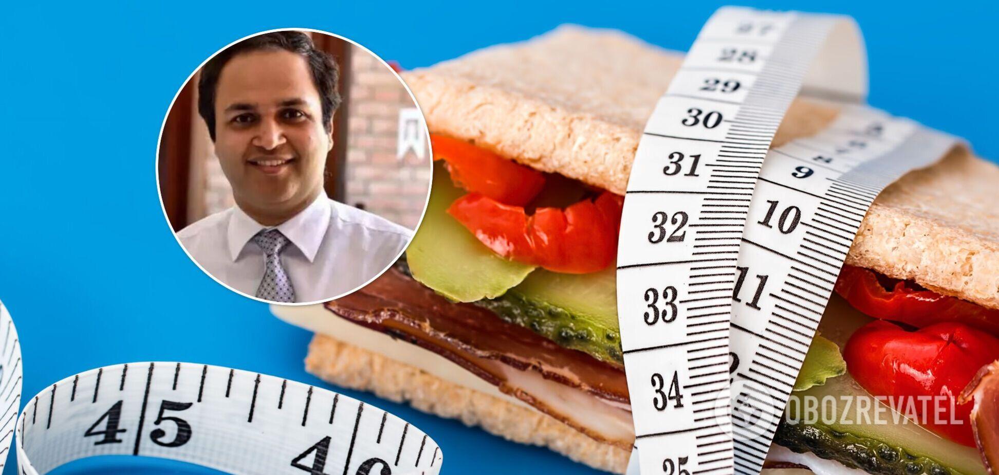 41-летний мужчина страдал от пристрастия к нездоровой еде