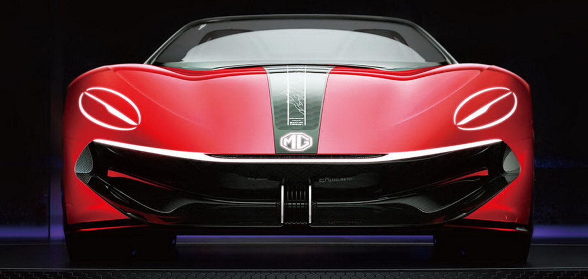 MG покажет на автошоу в Шанхае электрический родстер Cyberster
