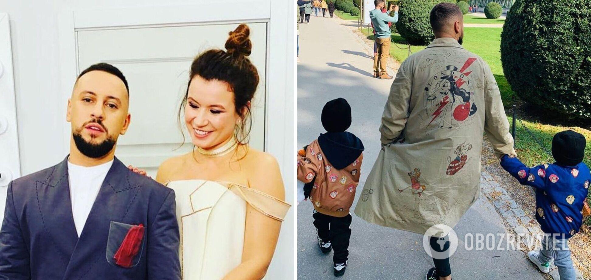 MONATIK з'явився на обкладинці модного глянцю з дружиною та синами. Фото