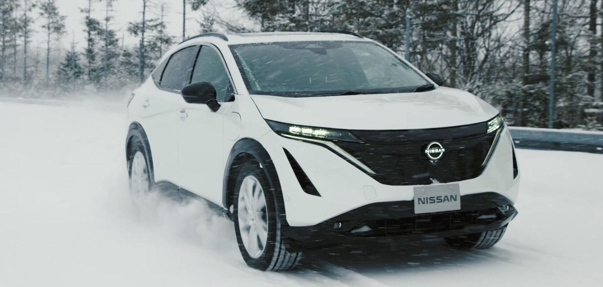 Nissan показав фінальні тести нового електрокроса Ariya