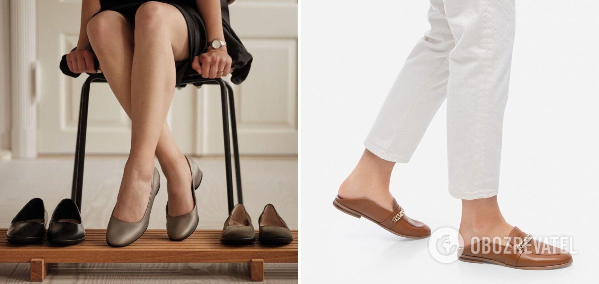 Стилист показала обувь прошлого века и современную, которая всегда остается в моде