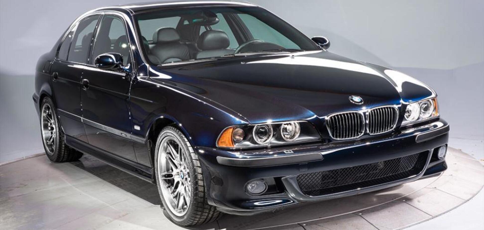 В США продали 18-летний BMW M5 за рекордные $200 тысяч