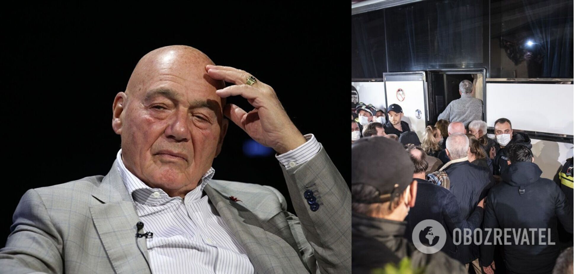 Скандал з Познером в Грузії