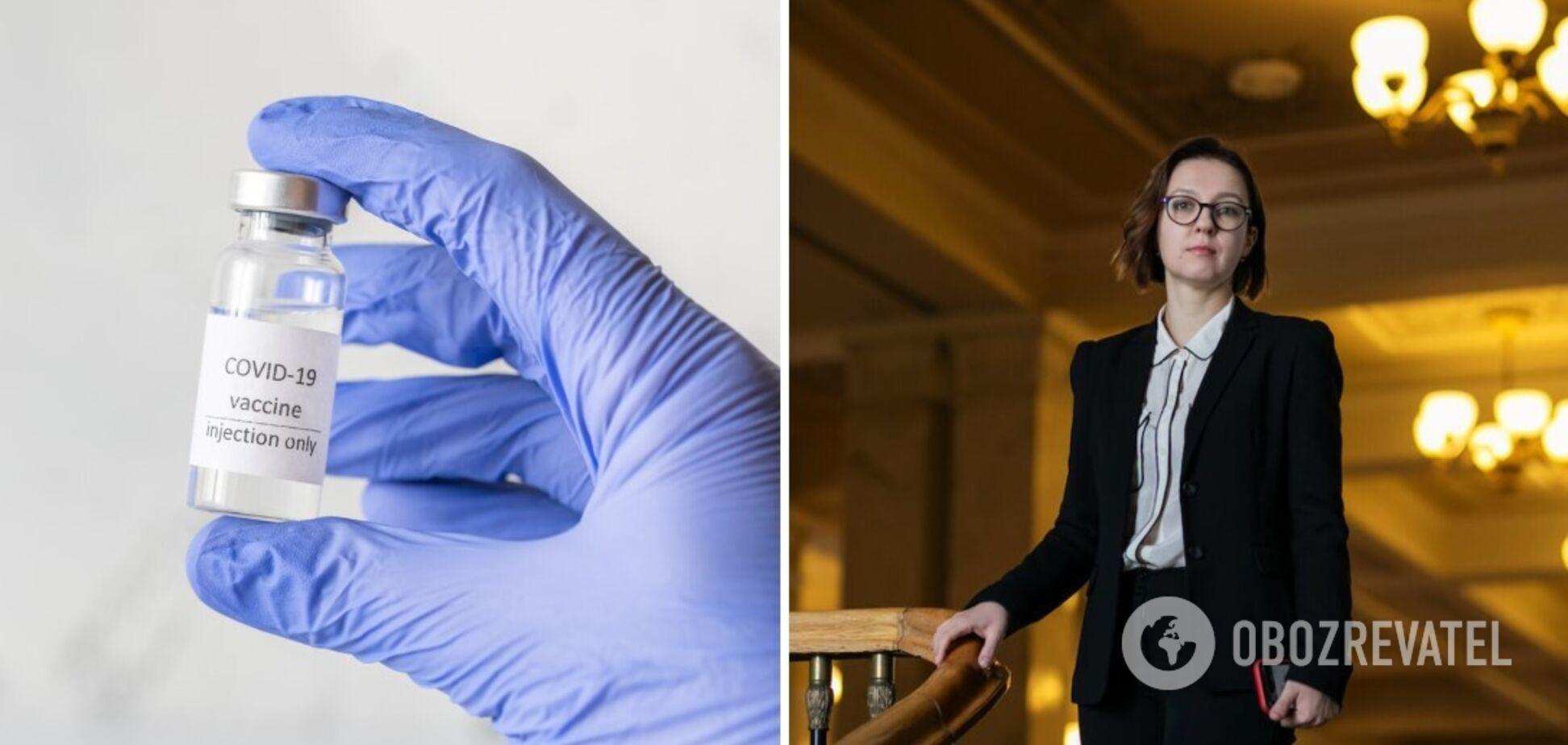 Совсун заявила, что инвестиции в вакцинацию от коронавируса признаны самыми выгодными для государств в современном мире
