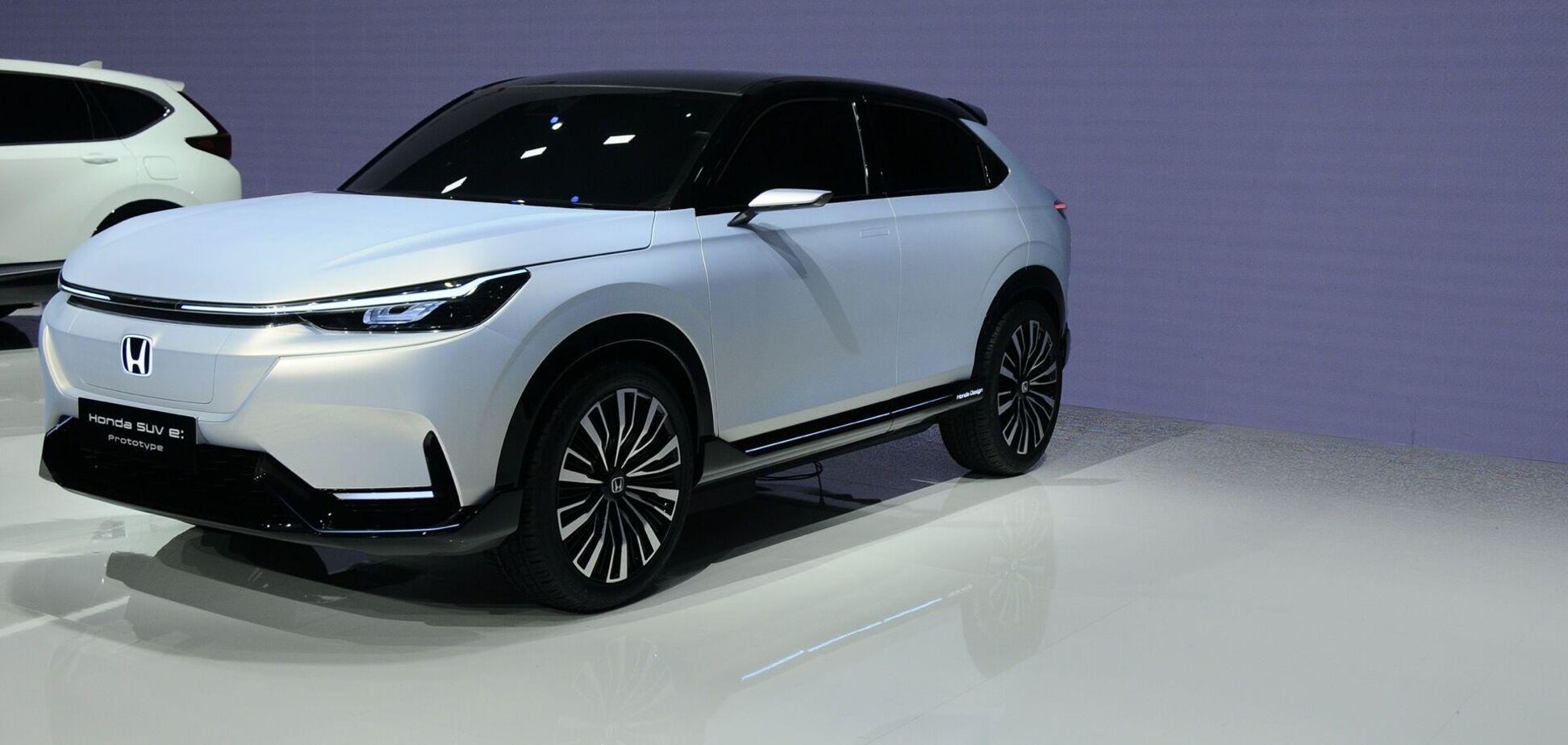 Honda представила прообраз электрического HR-V