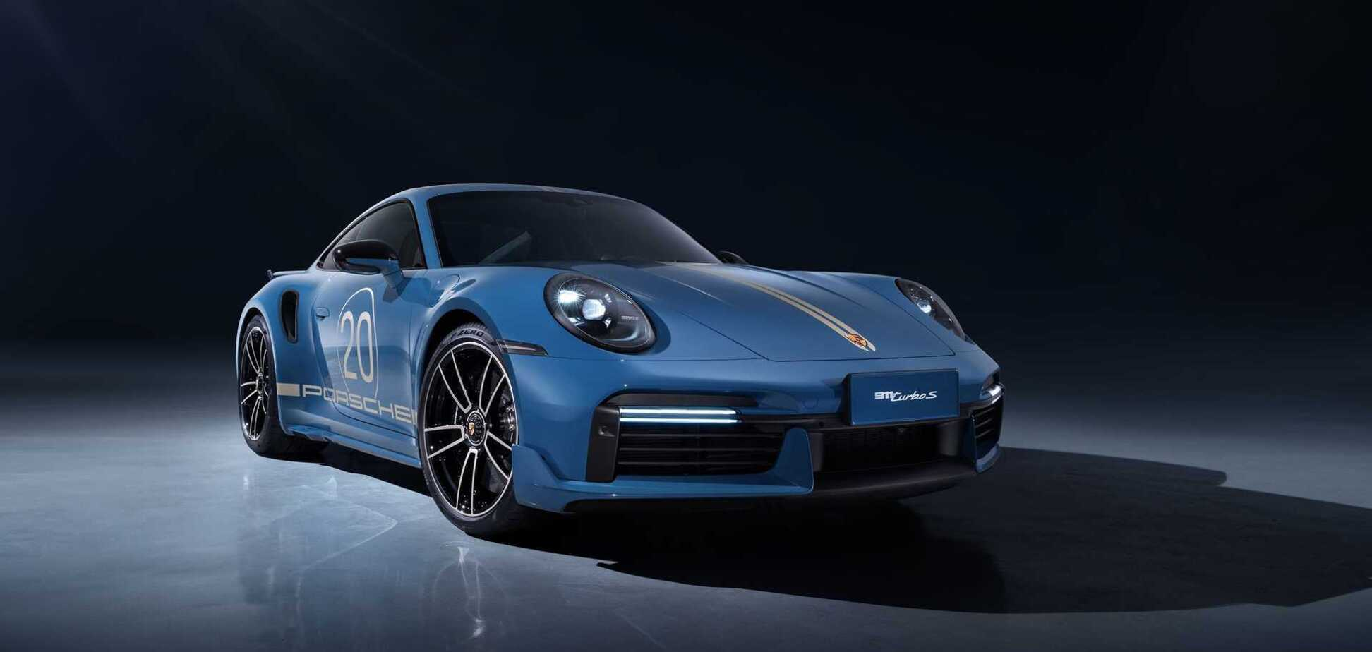 Porsche 911 Turbo S Porsche China 20th Anniversary Edition