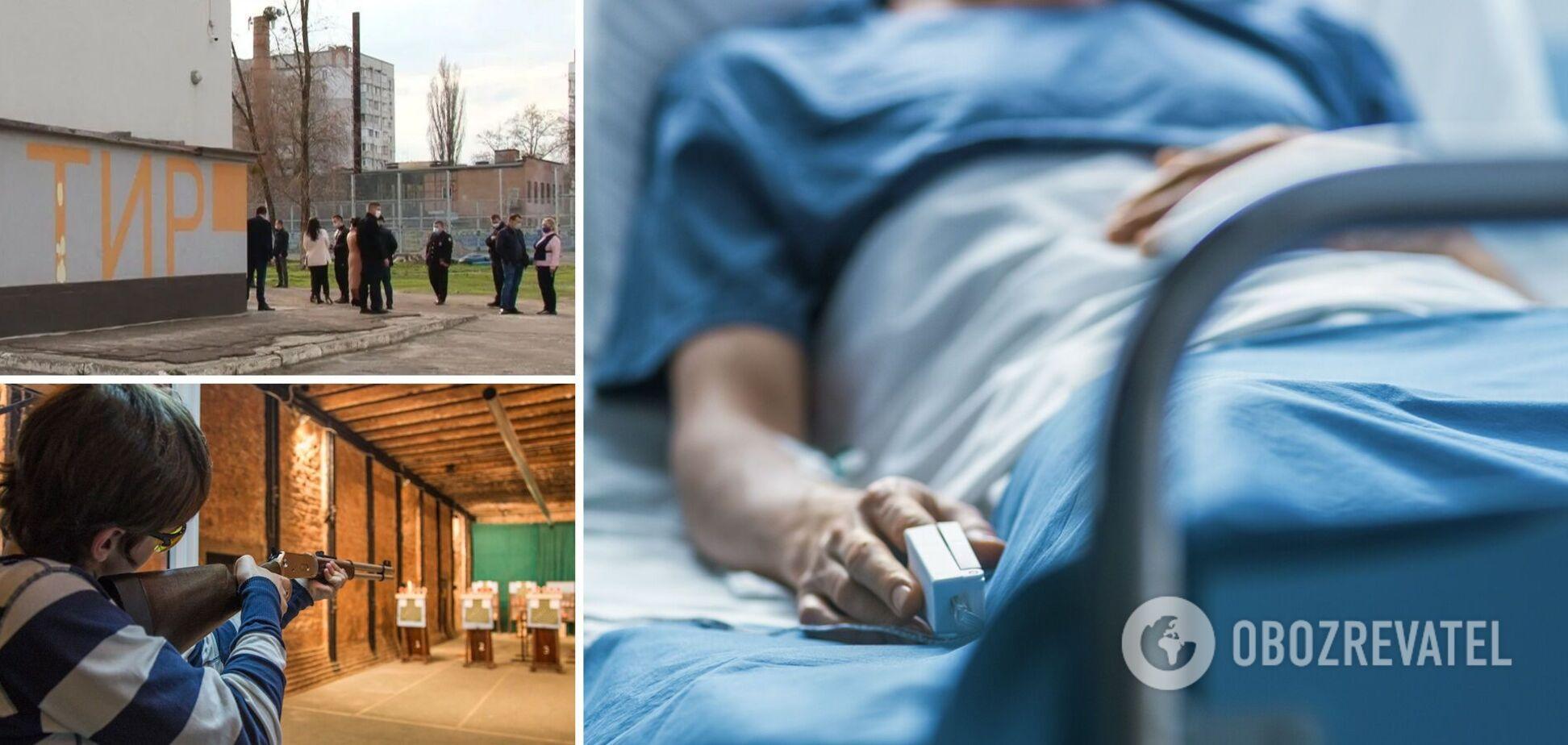 Куля пробила скроні, дитина в комі: з'явилися подробиці НП в гімназії Черкас