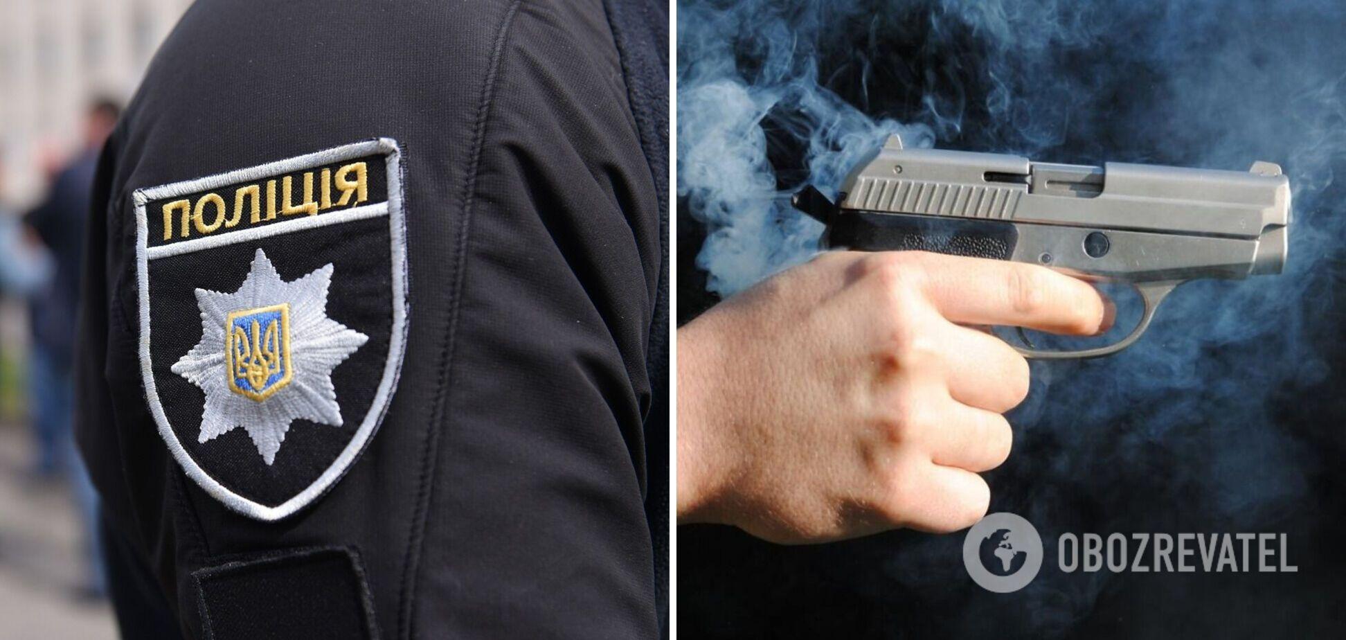 На Запорожье подросток выстрелил себе в рот из пистолета