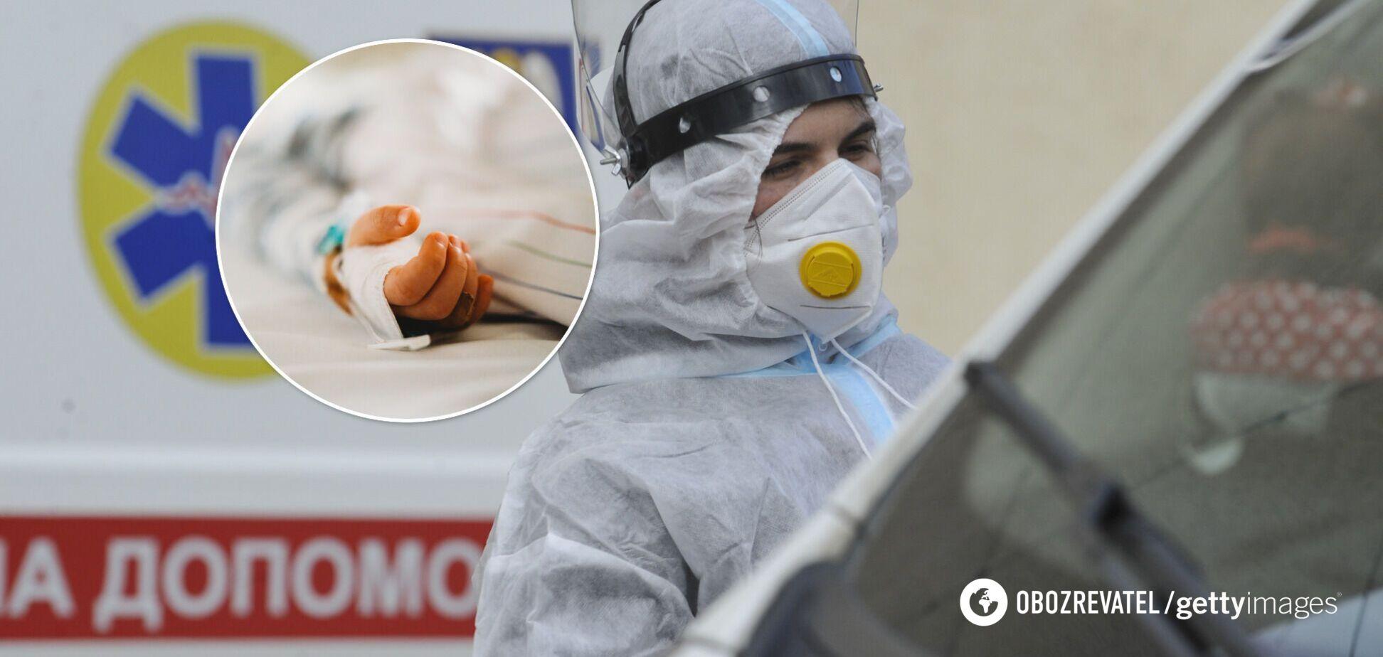 На Винниччине умер трехлетний ребенок с COVID-19