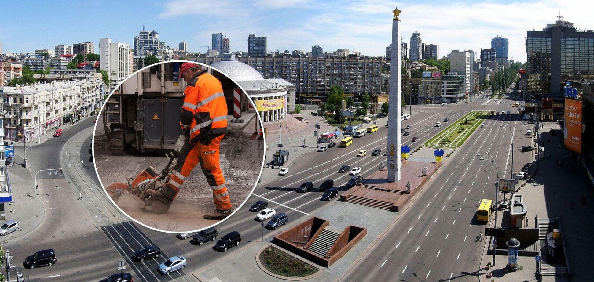 Площа Перемоги в Києві зміниться до невпізнанності
