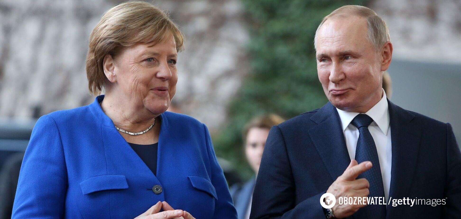Меркель відповіла на запитання, чи вважає Путіна 'вбивцею'. Відео