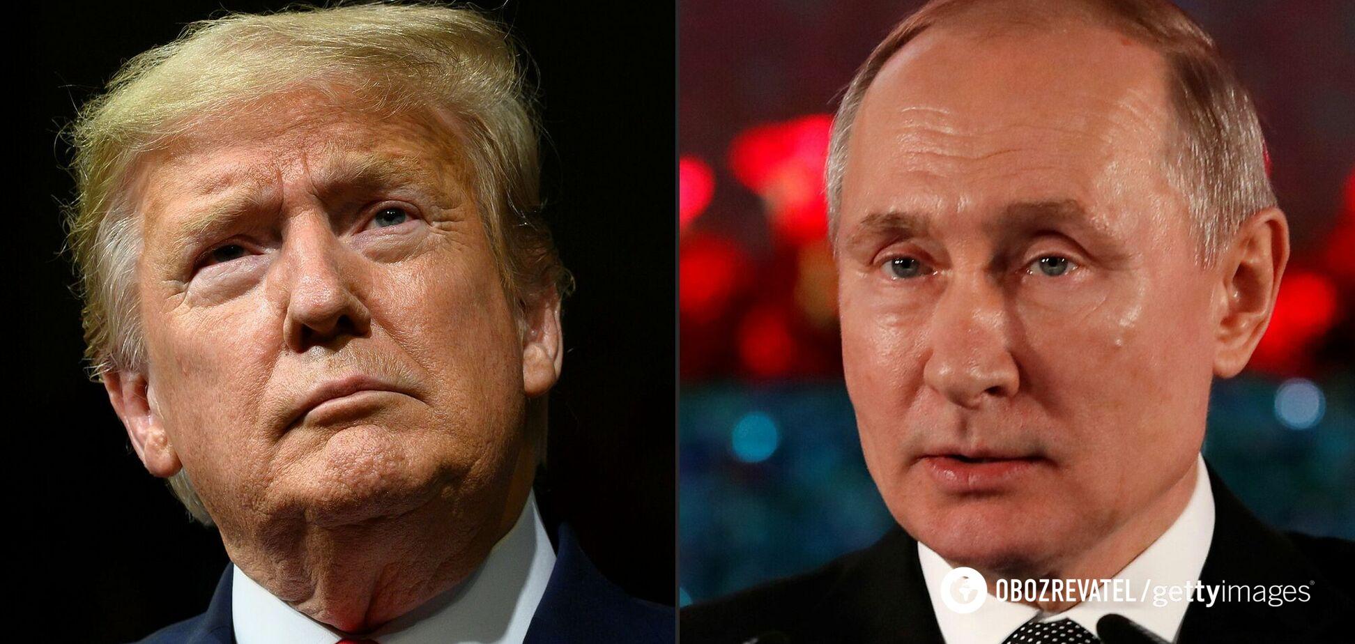 Трамп заявил, что нравился Путину, и Путин ему нравился