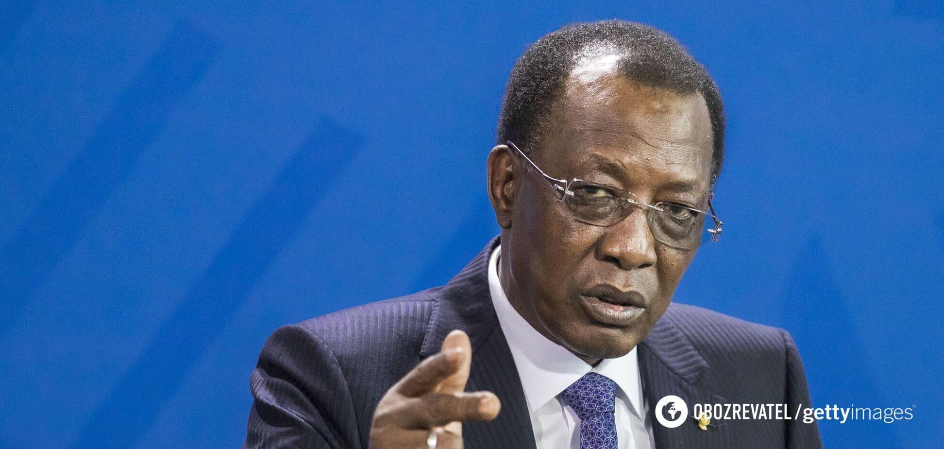 Президента Чада убили на передовой сразу после переизбрания