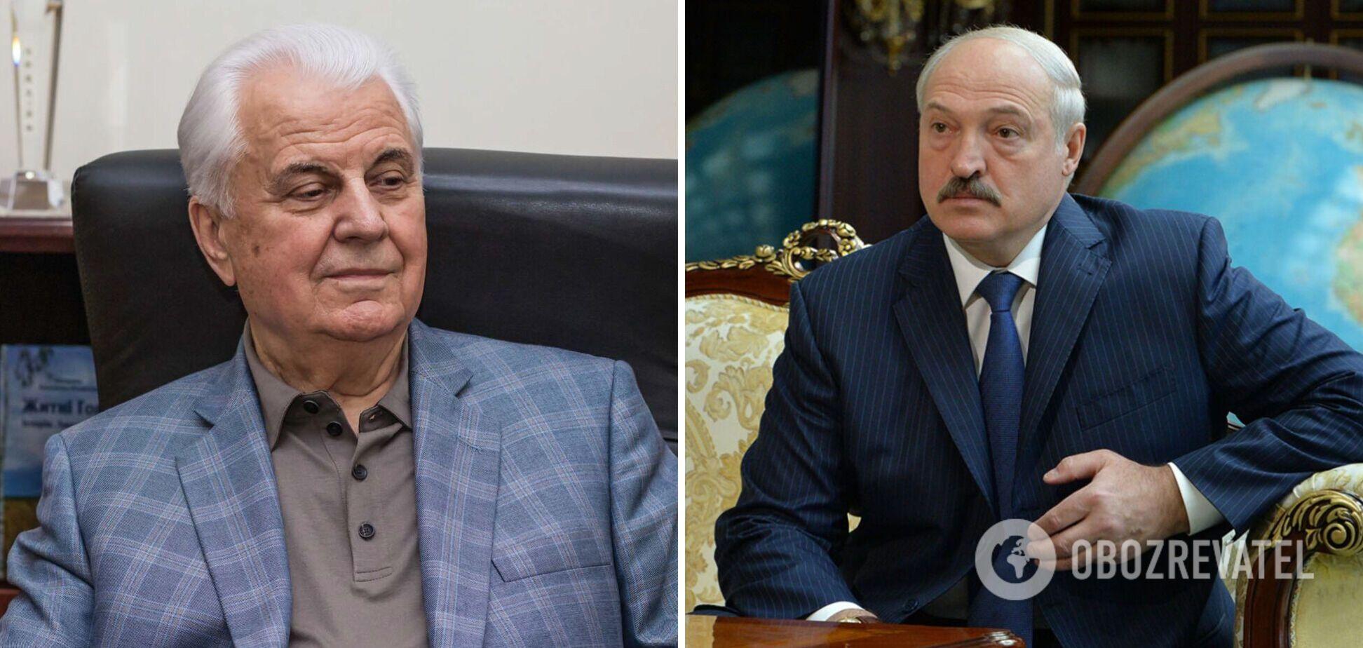 Леонід Кравчук і Олександр Лукашенко