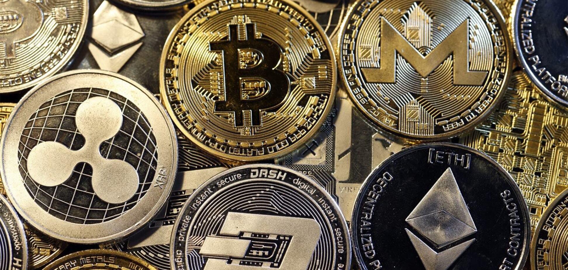 Власники криптовалют втратили пів мільярда за добу