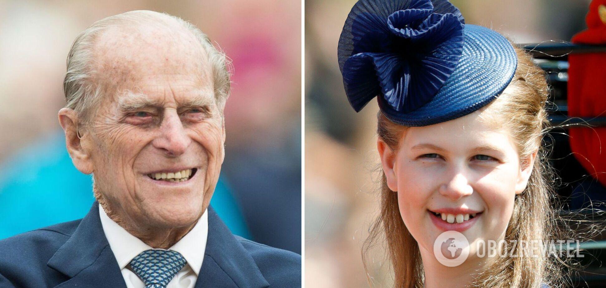 Стало известно, какое наследство оставил принц Филипп любимой внучке Луизе