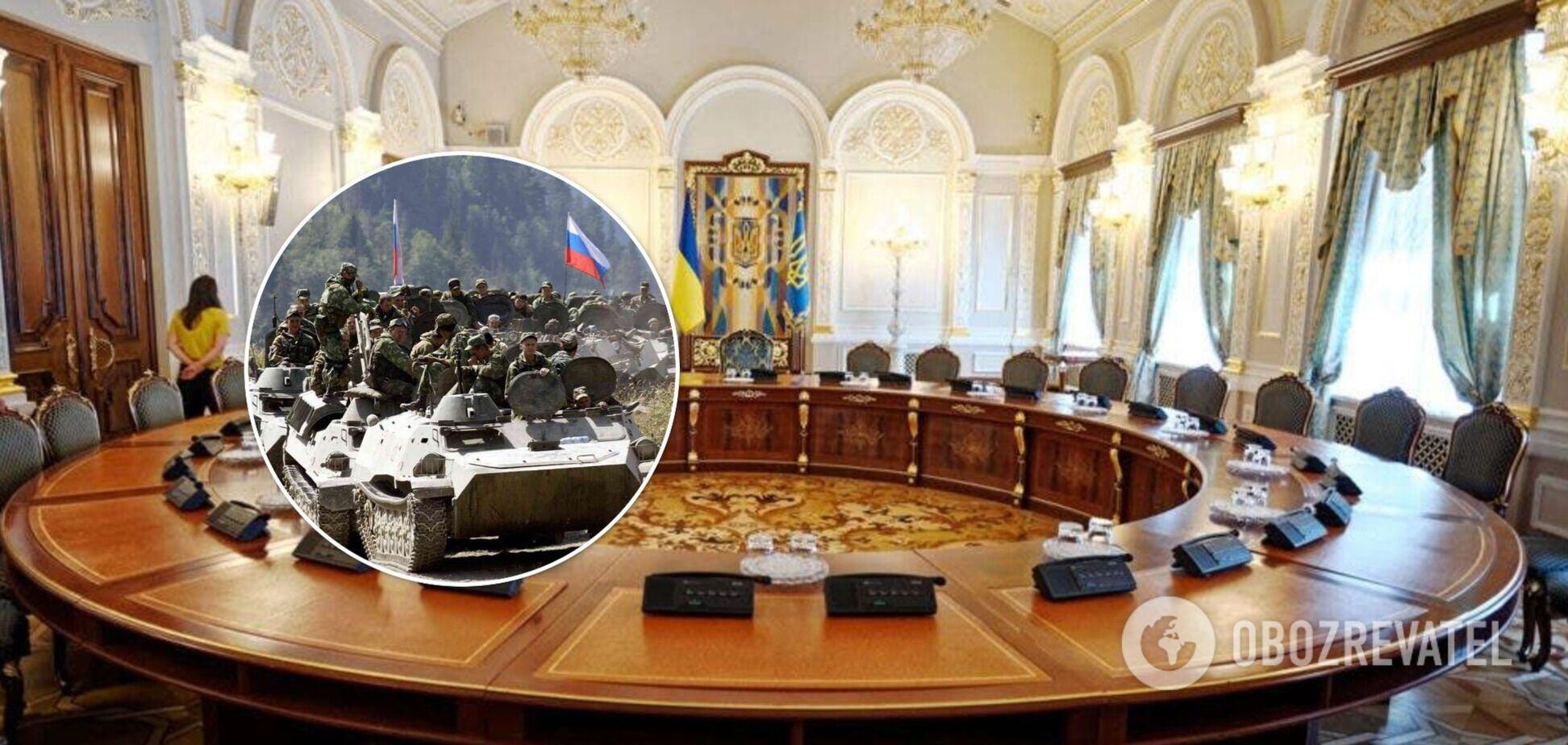 СНБО разрабатывает разные сценарии реагирования на российскую угрозу, – Данилов