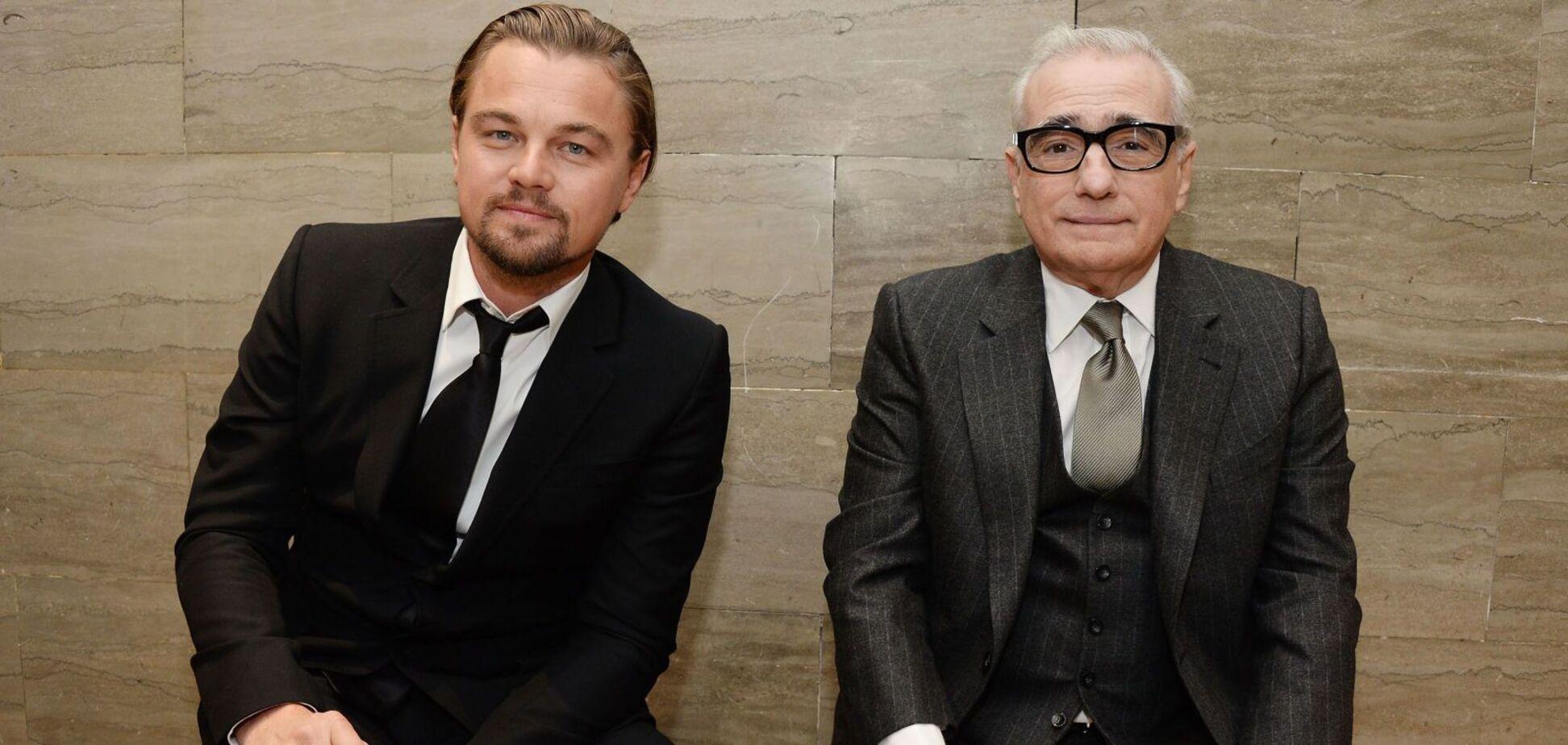 Леонардо Ді Капріо і Скорсезе почали зйомки нового фільму