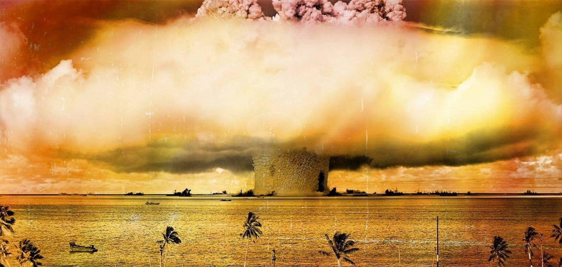 Ядерные испытания на атолле Бикини отразились на экологии всей планеты