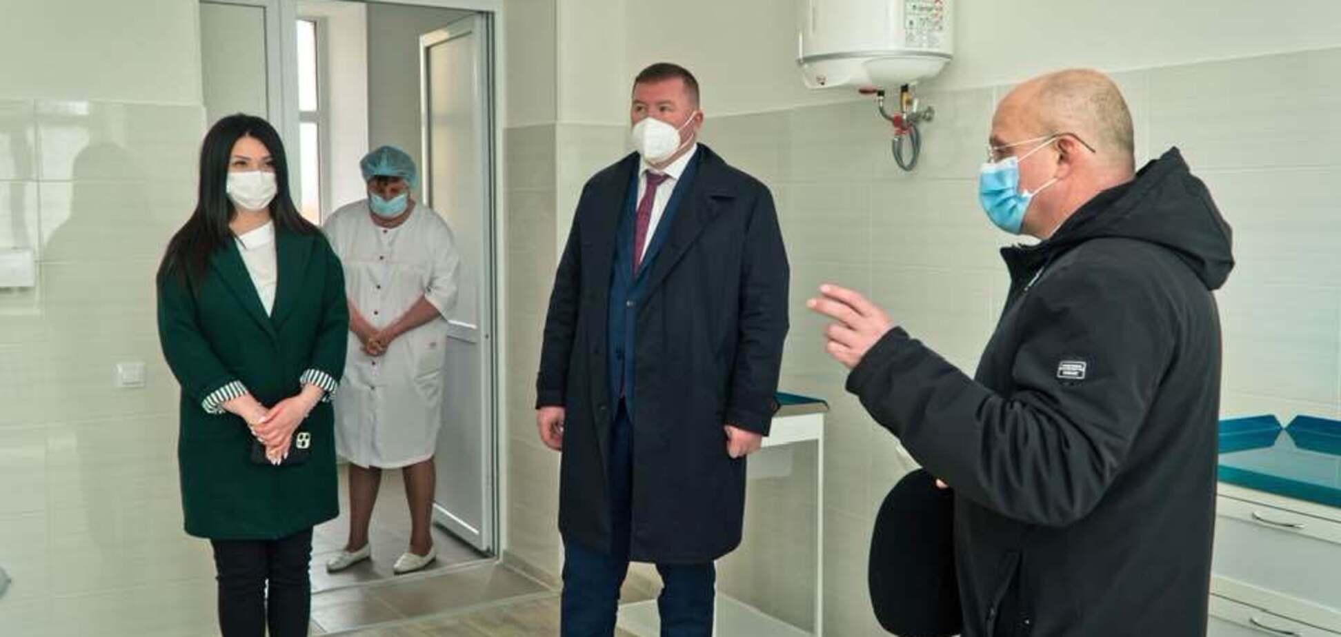 На Полтавщине завершили 'Большую стройку' приемного отделения Хорольской больницы