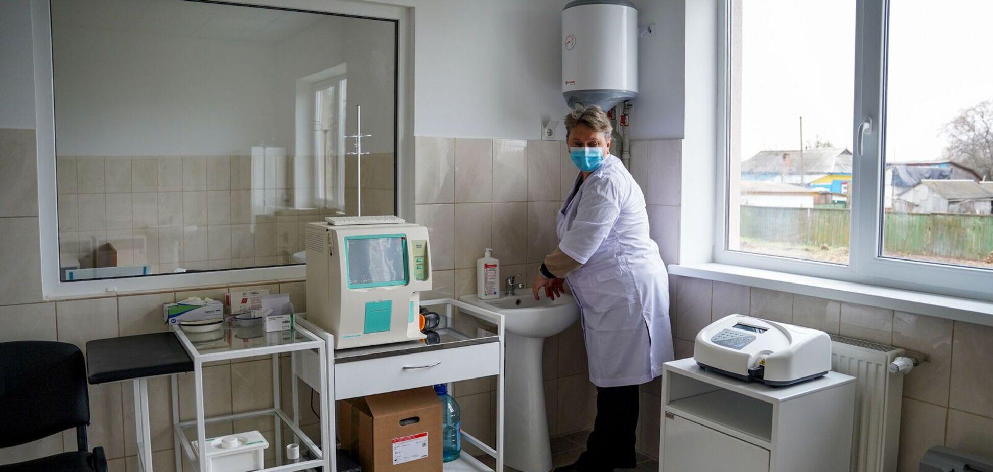На Чернігівщині відкрили нову амбулаторію за програмою 'Велике будівництво'