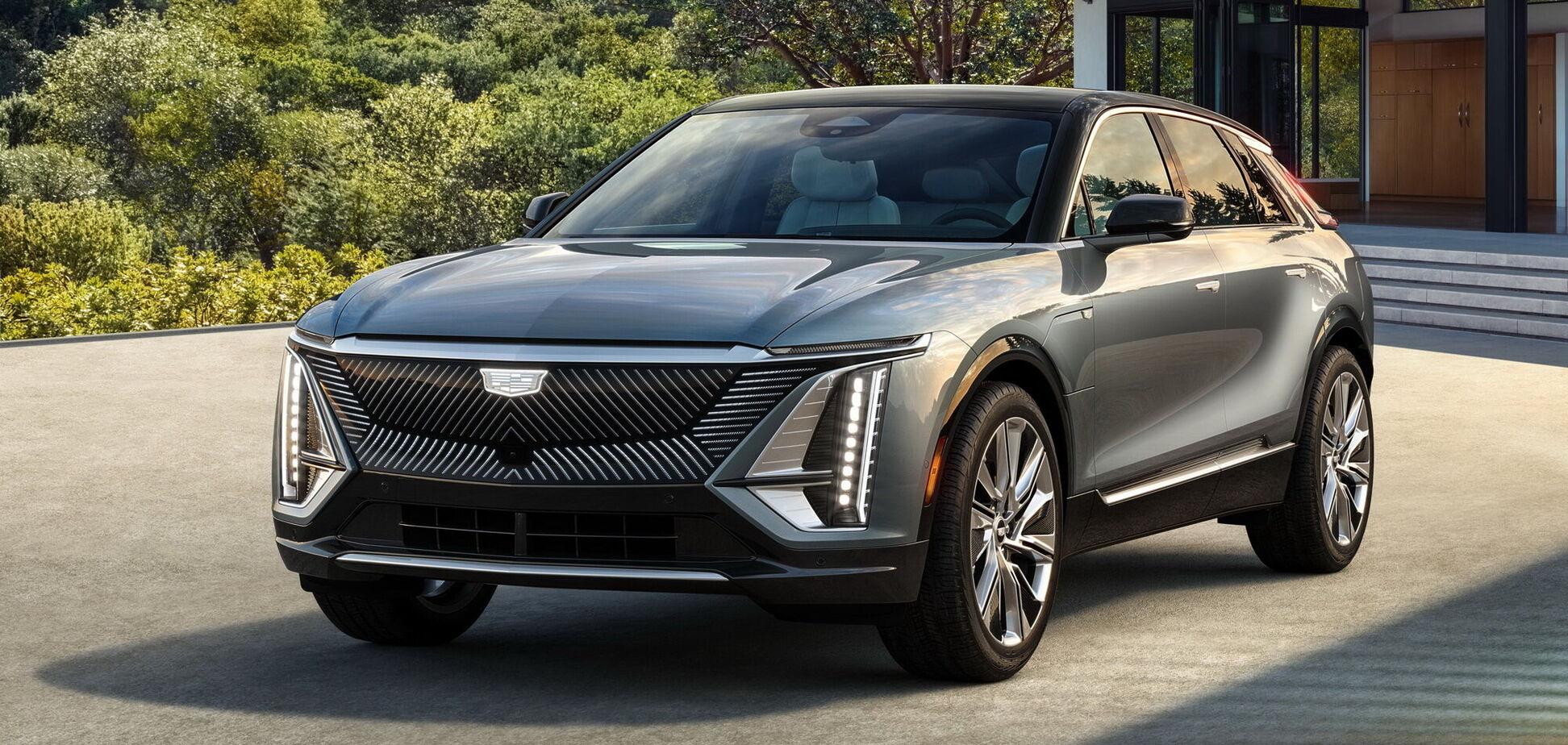 Cadillac презентовал первый в своей истории электромобиль