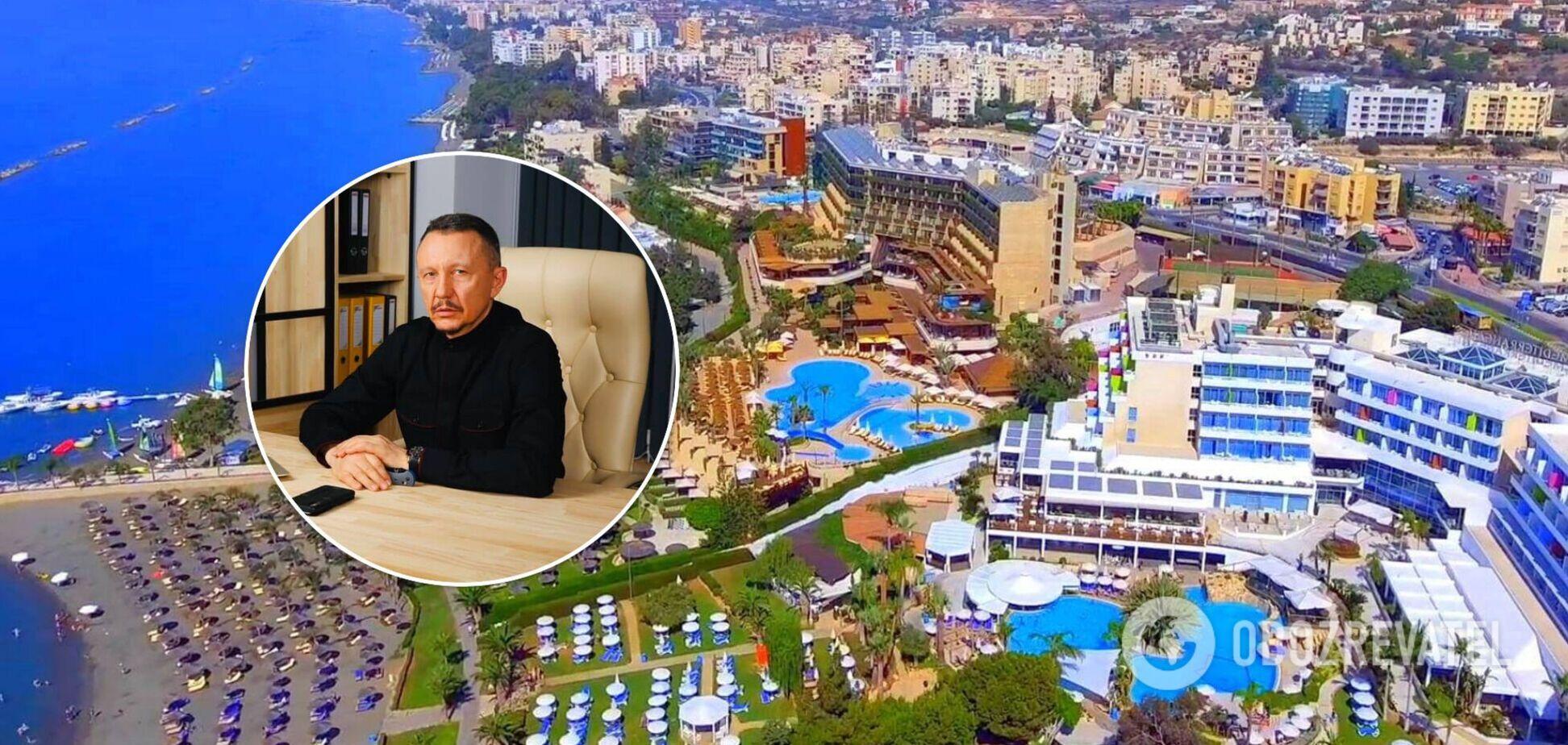 Шлычков тратит деньги на Кипре