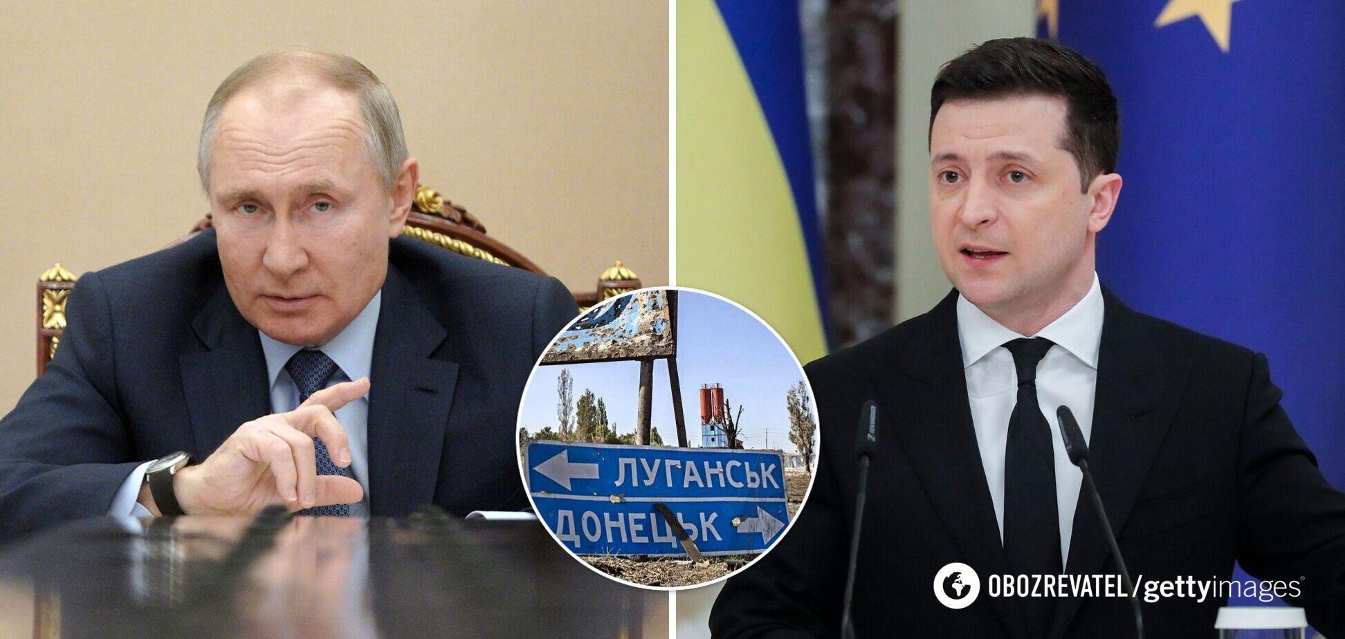 У Путіна відреагували на запрошення Зеленського на Донбас