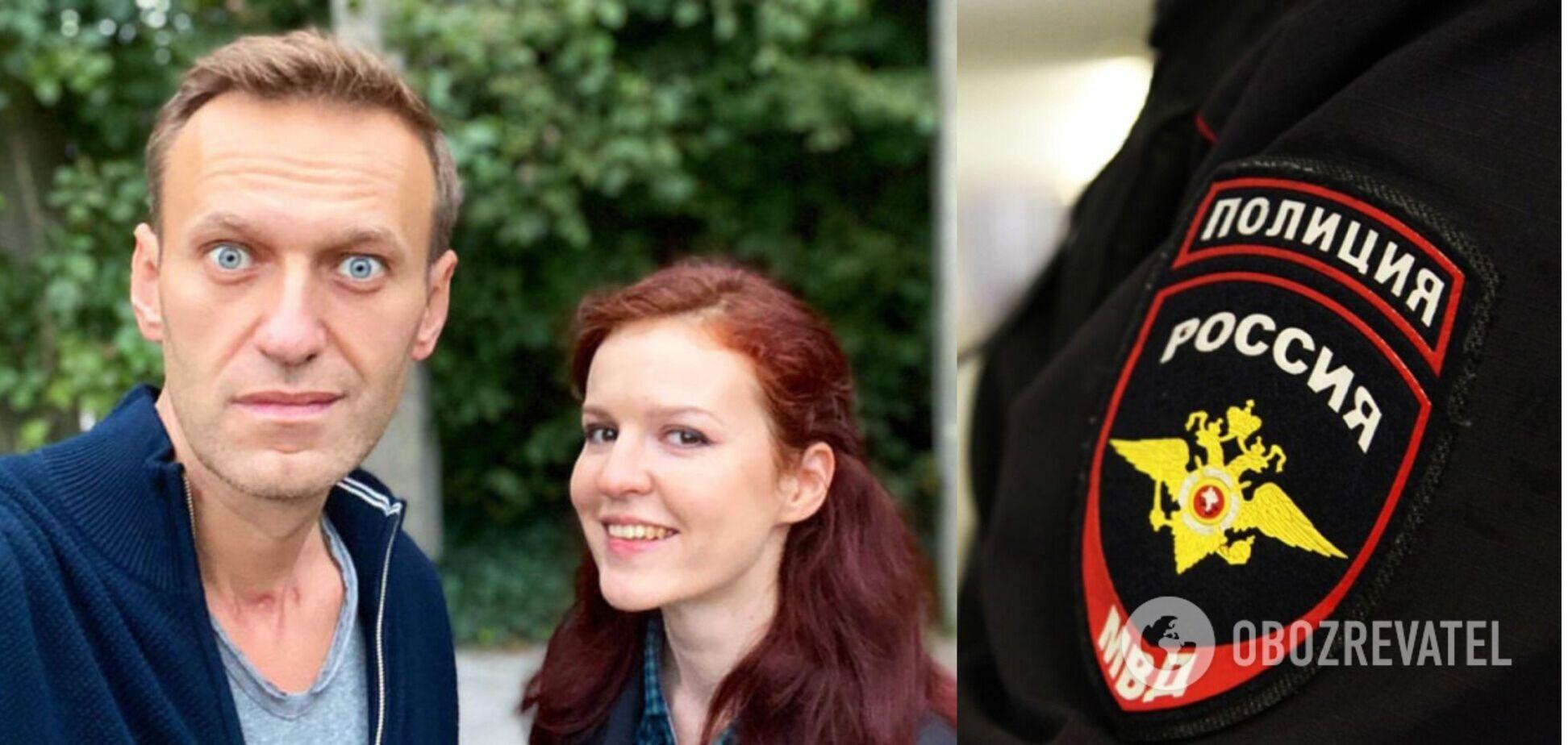 У Росії затримали прессекретарку Навального