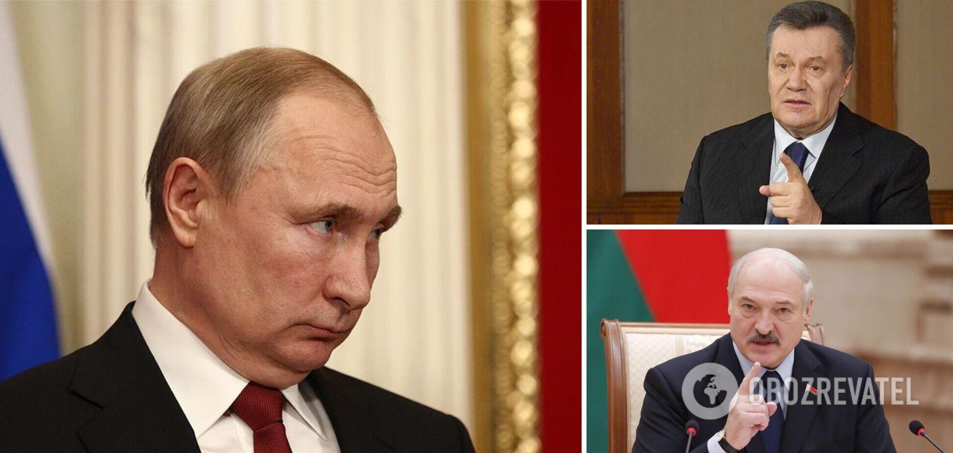 Путин: Януковича чуть не убили и отстранили от власти