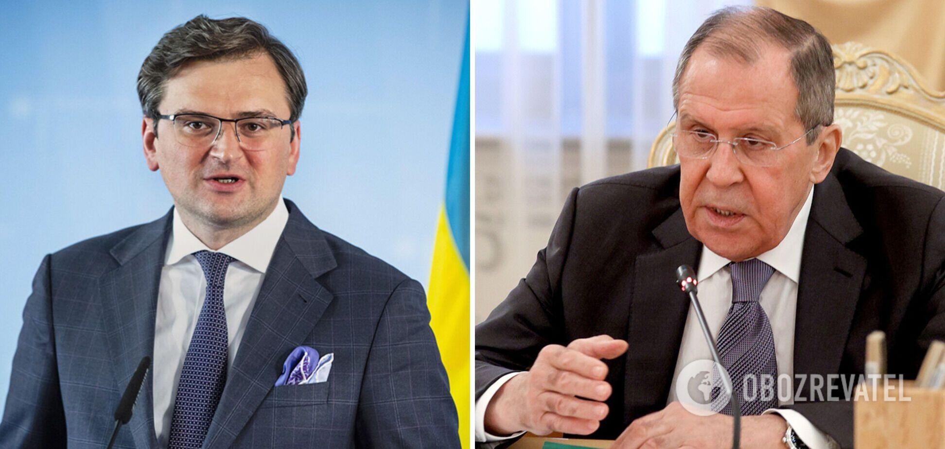 Кулеба сказал, что пытался дозвониться Лаврову: в РФ пояснили молчание