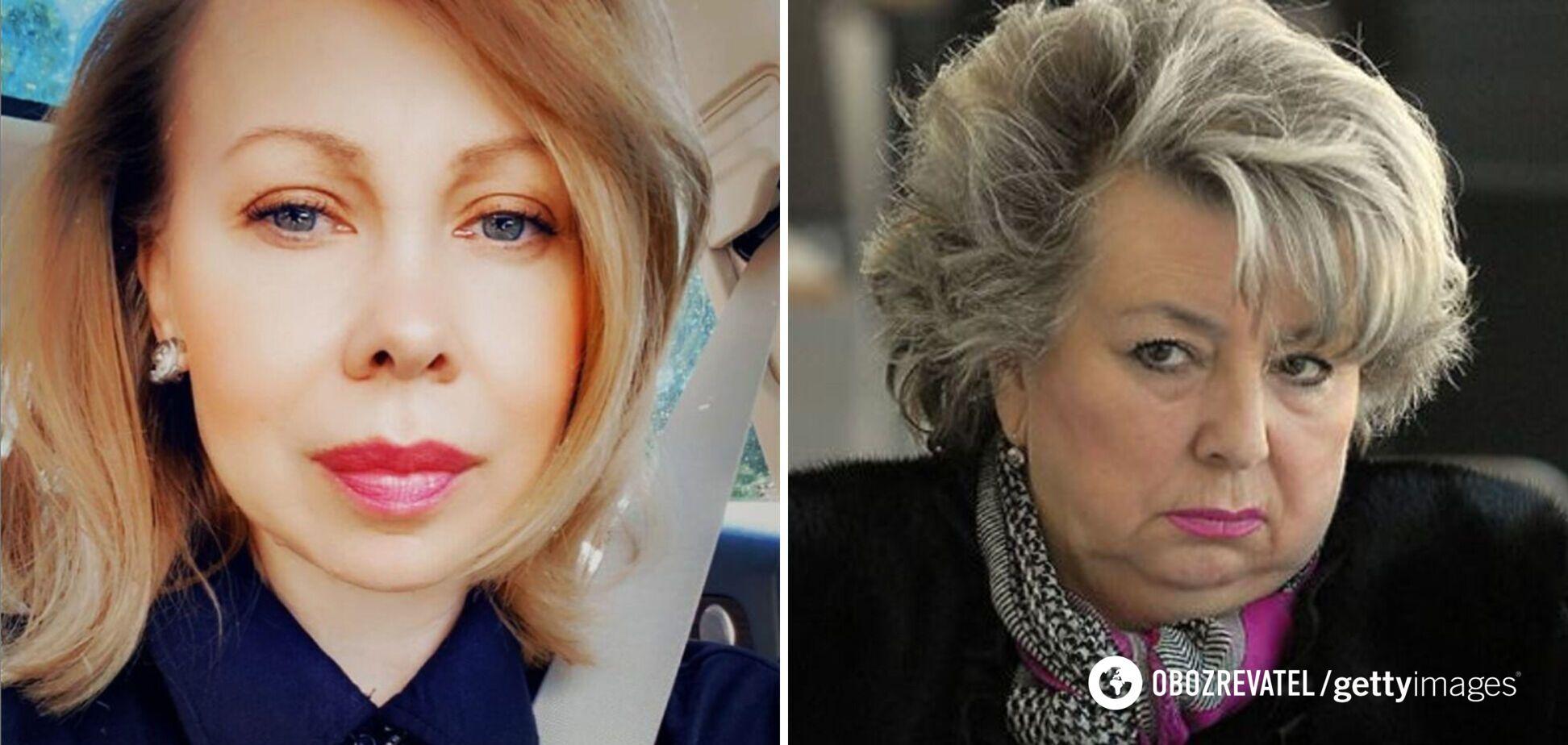 Оксана Баюл і Тетяна Тарасова