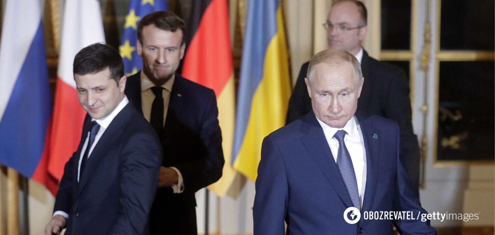Президента Украины обвинили в 'кривлянии'