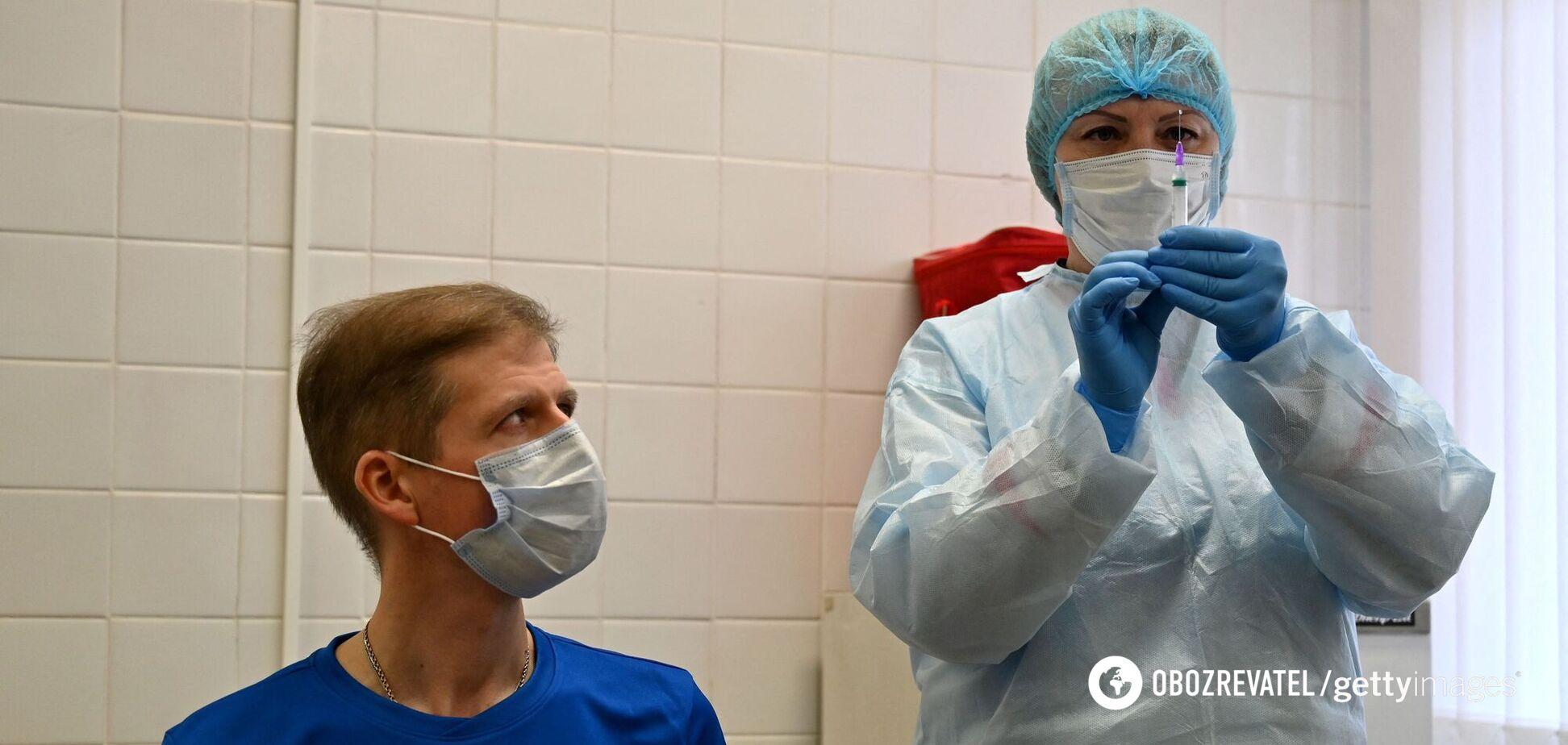 В Україні за добу від COVID-19 вакцинували понад 15 тисяч осіб