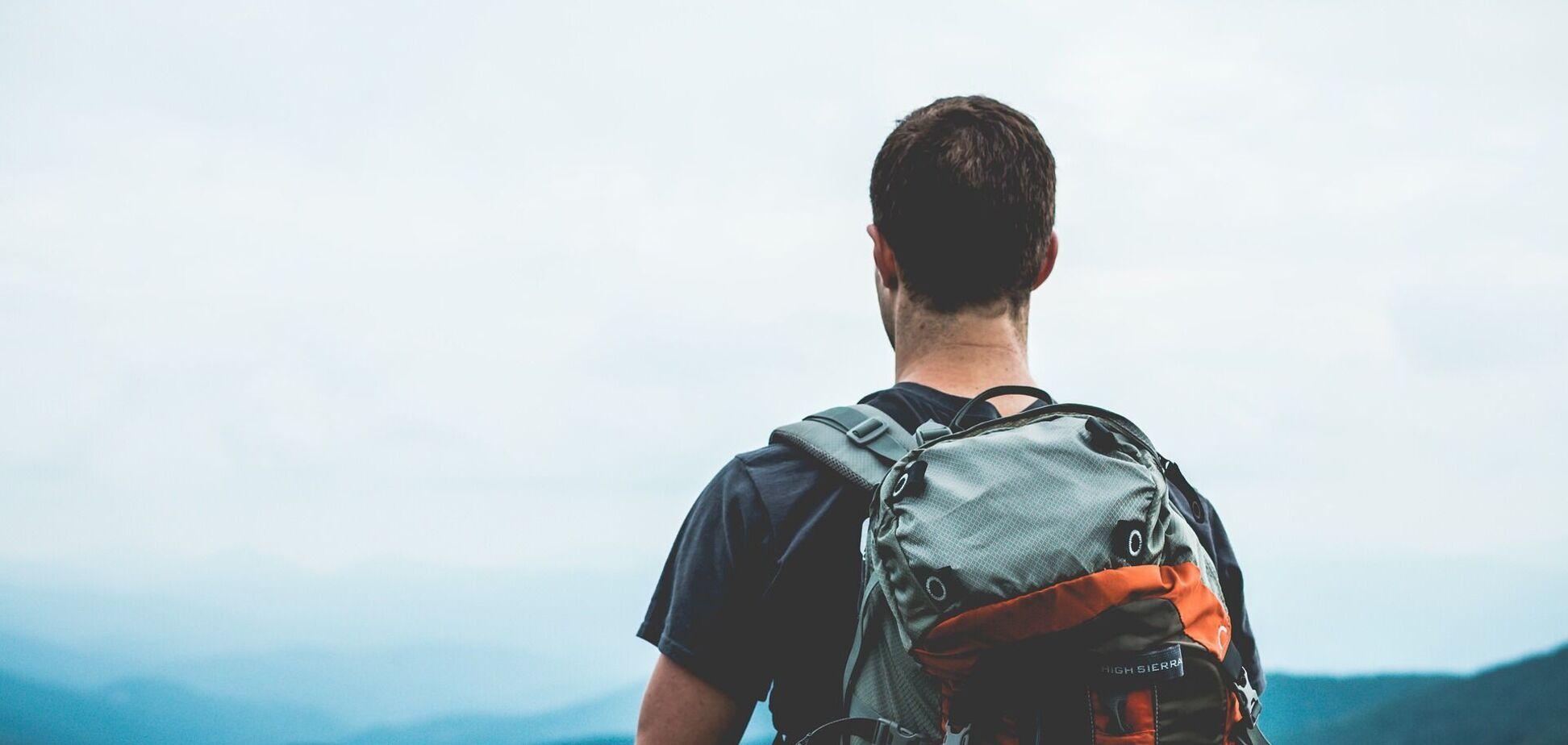 Українець пройшов понад тисячу км пішки