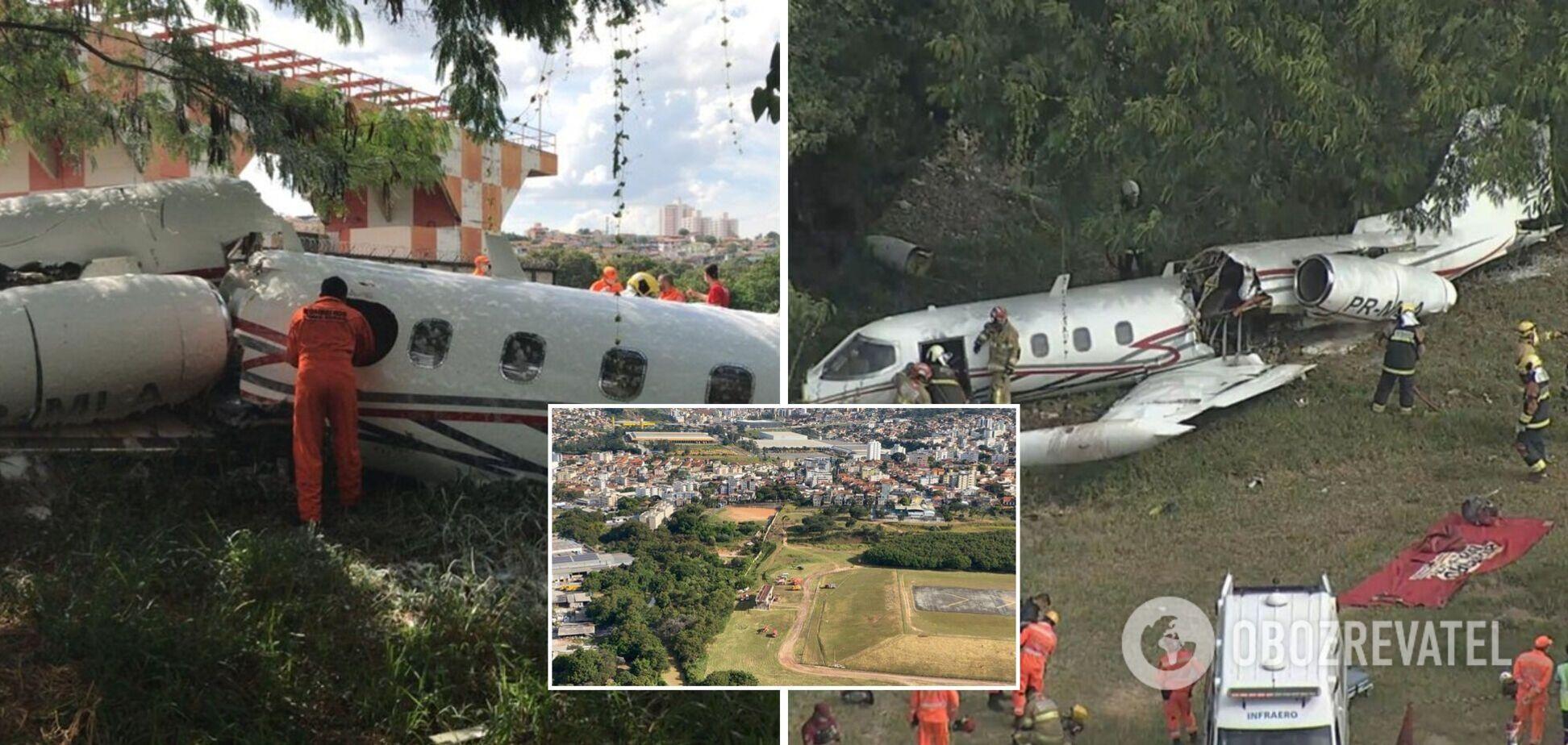 В Бразилии разбился самолет