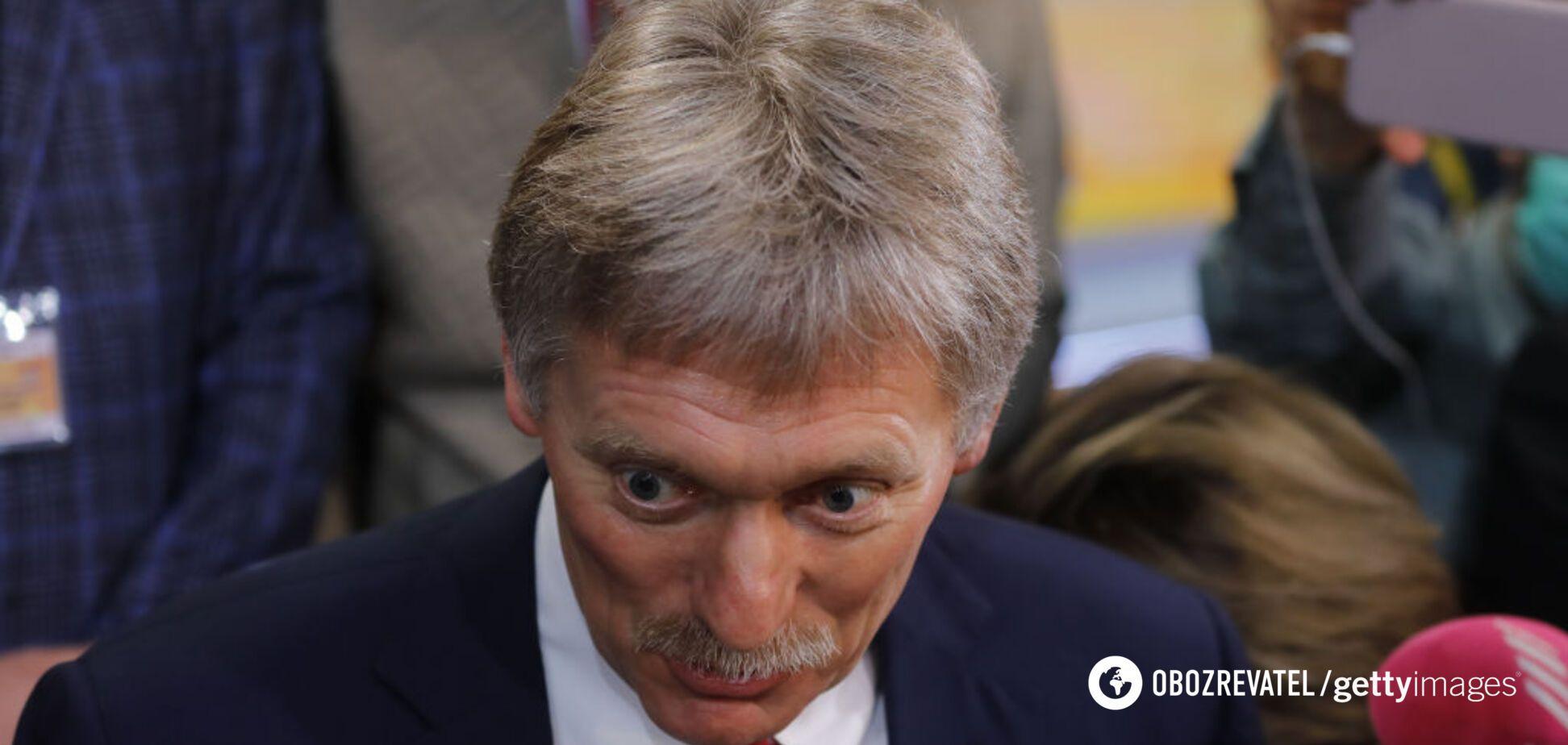 Прессекретар президента РФ Дмитро Пєсков