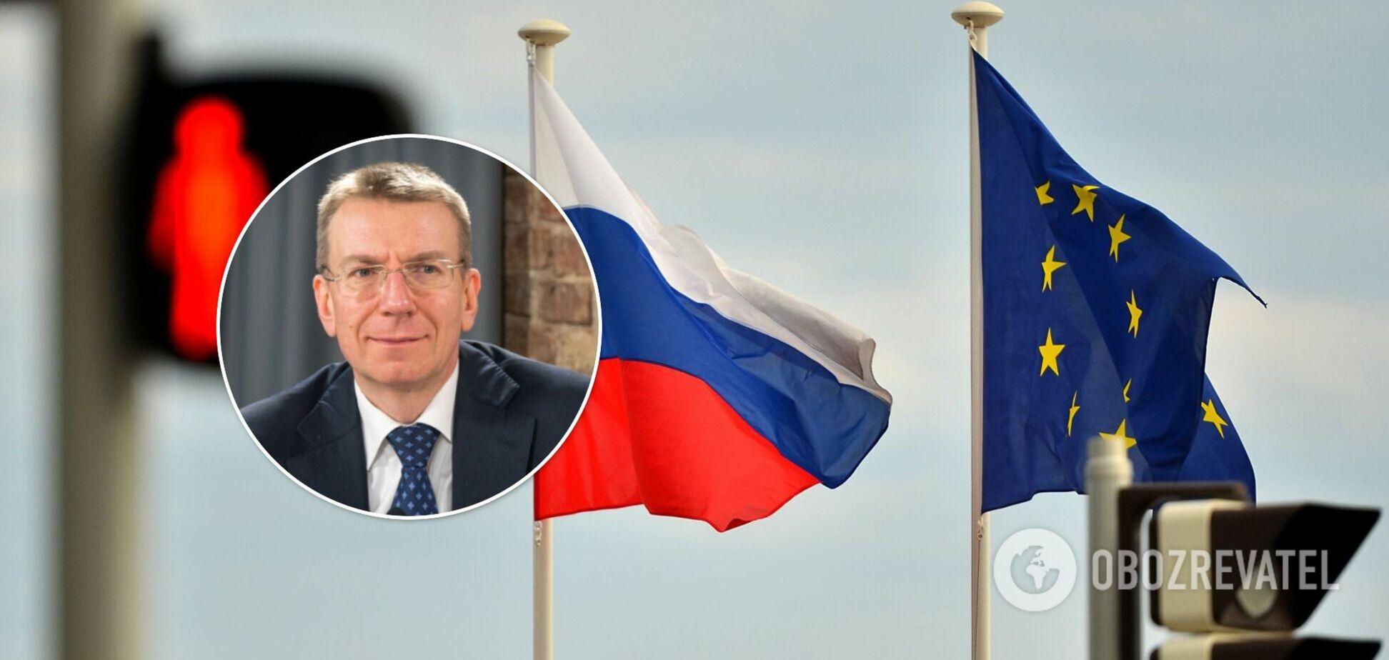 По сравнению с новыми санкциями действующие покажутся России 'легкой прогулкой', – глава МИД Латвии