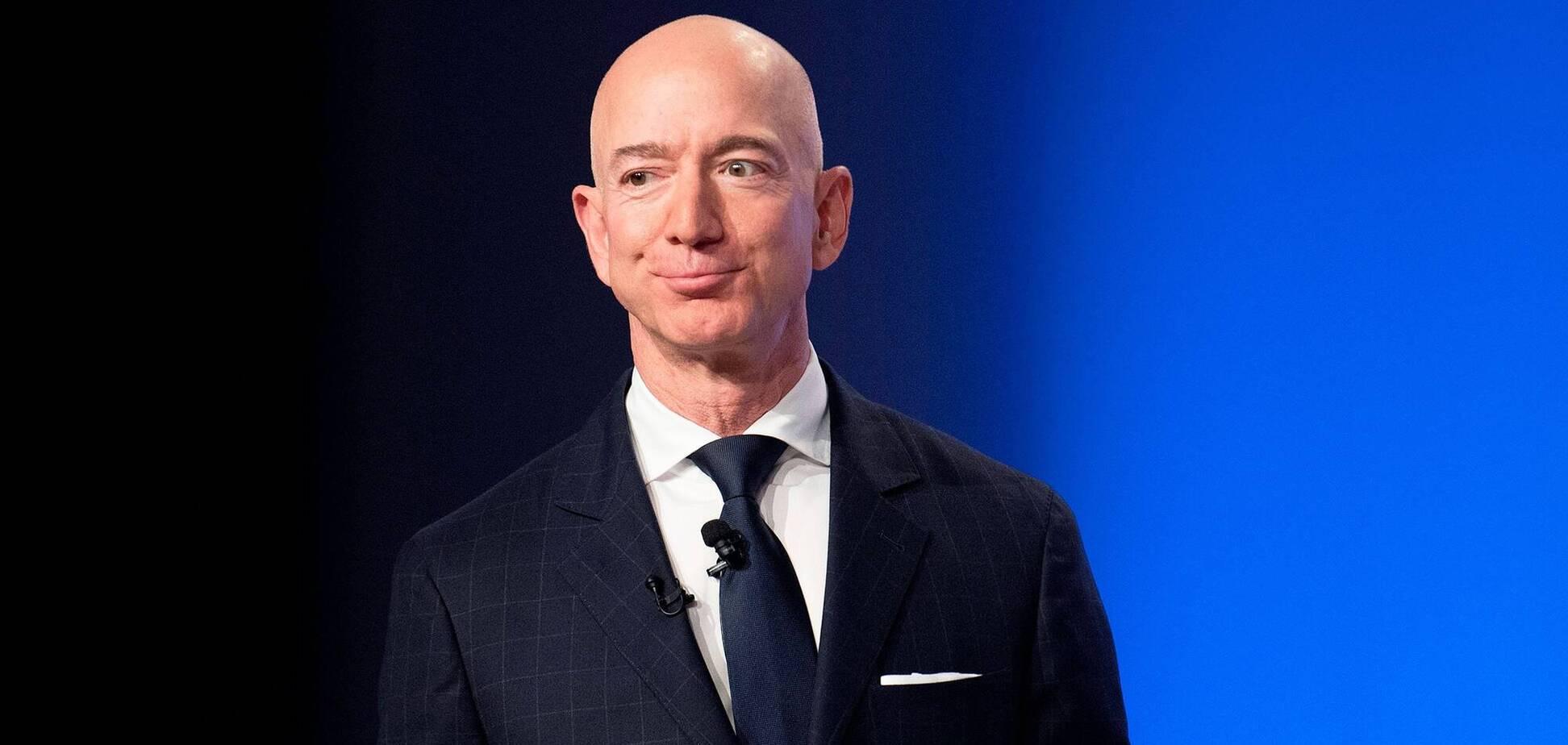 Найбагатша людина в світі Джефф Безос