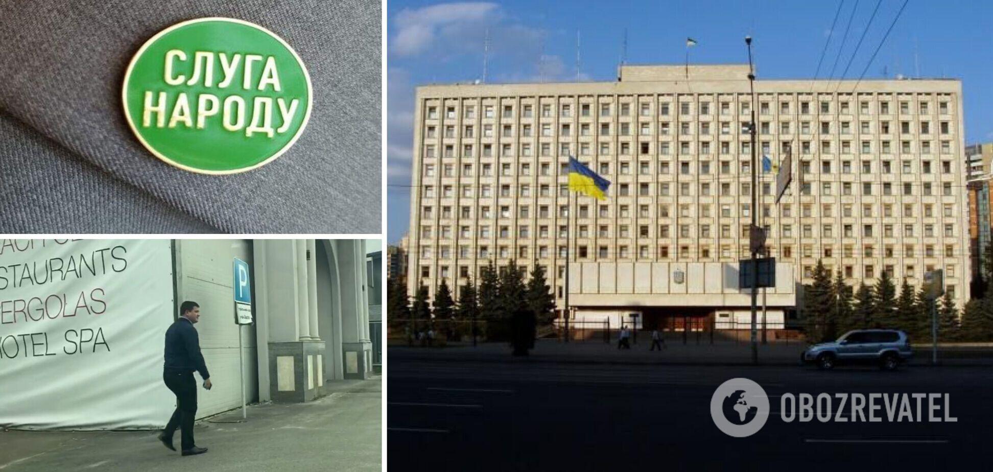 Встреча депутатов 'Слуги народа'