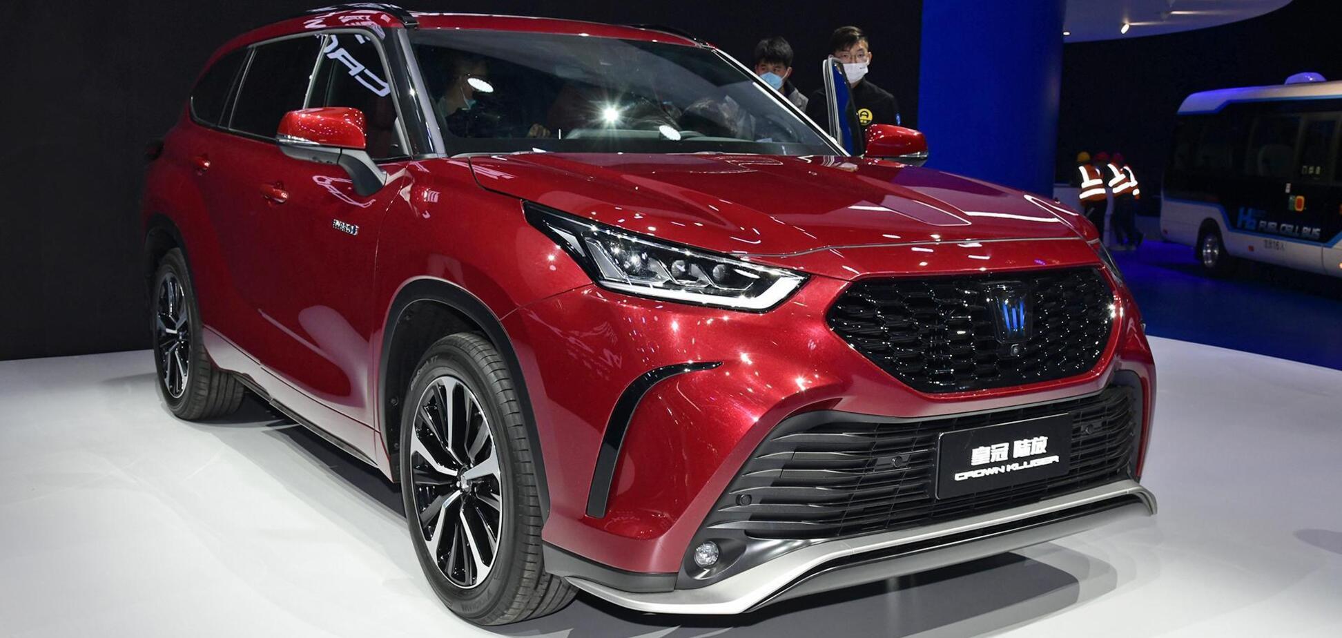 Toyota подготовила для Китая две эксклюзивные новинки