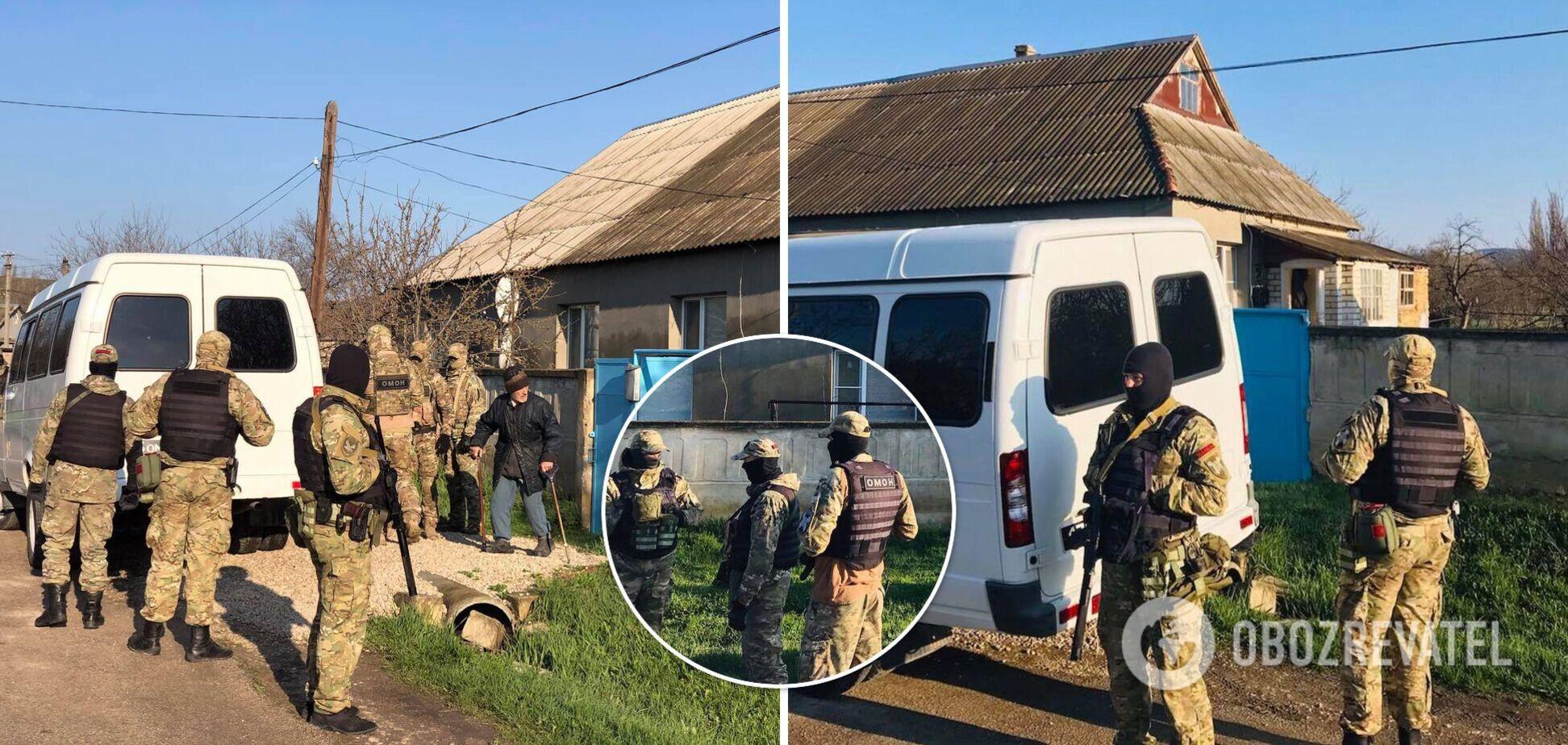 Обшук у кримського татарина