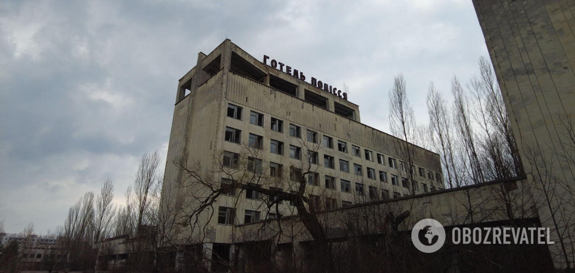 Як виглядає місто-примара Прип'ять через 35 років після катастрофи