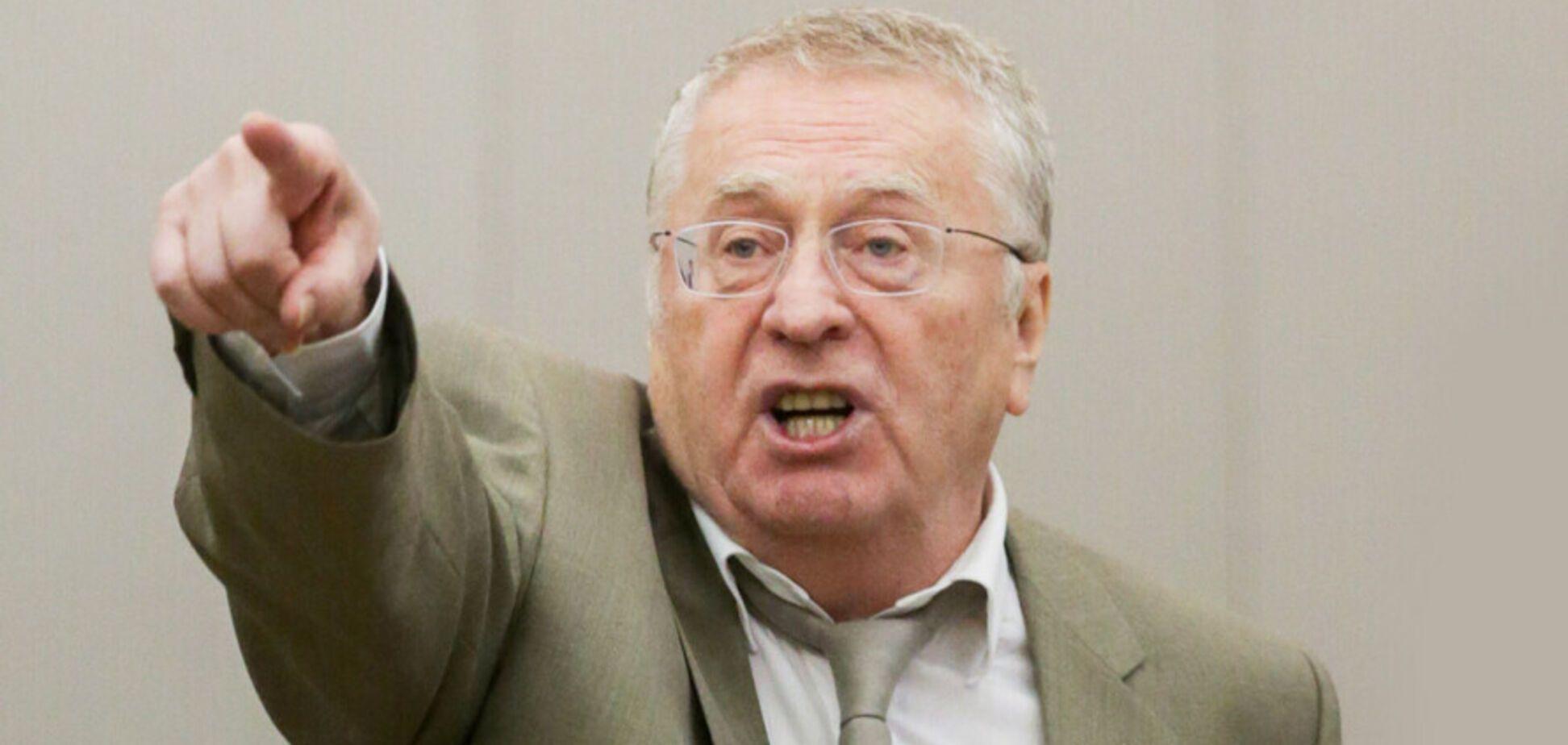 Жириновский отдаст 10 млн рублей за российский флаг над Киевом