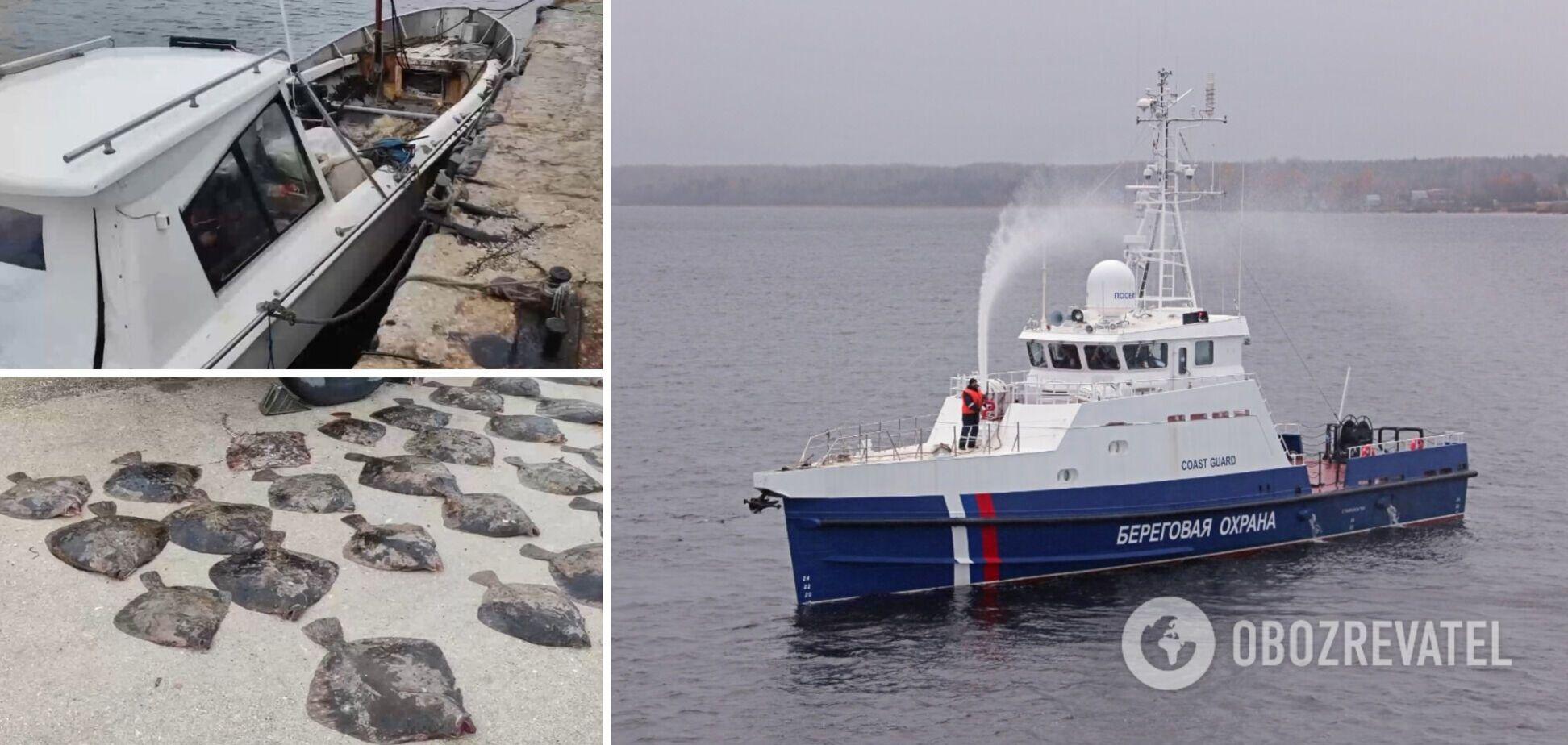 У Криму прикордонники ФСБ затримали катер із українцями. Відео