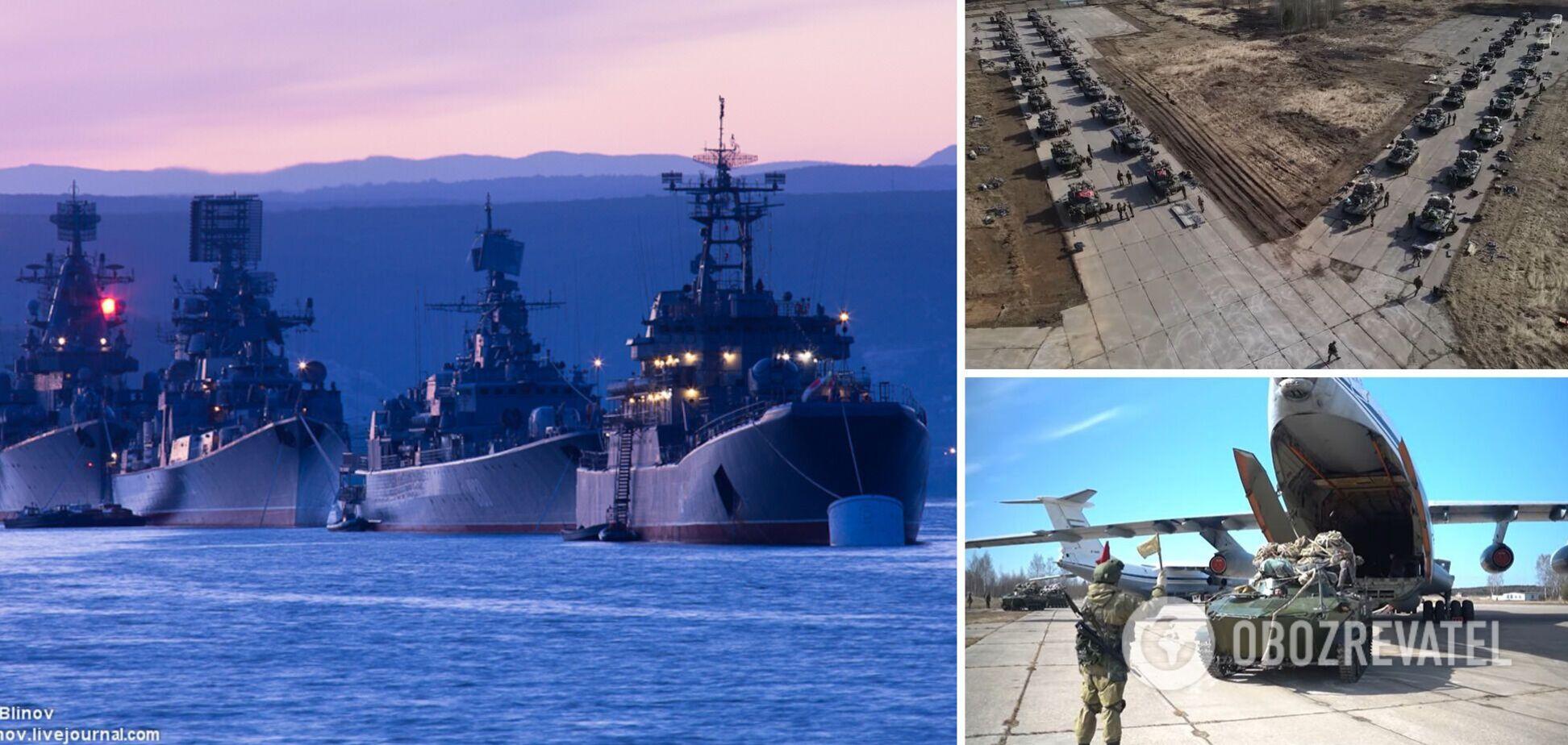 В России показали военные учения в Крыму, на полуостров прибыл министр Путина. Видео
